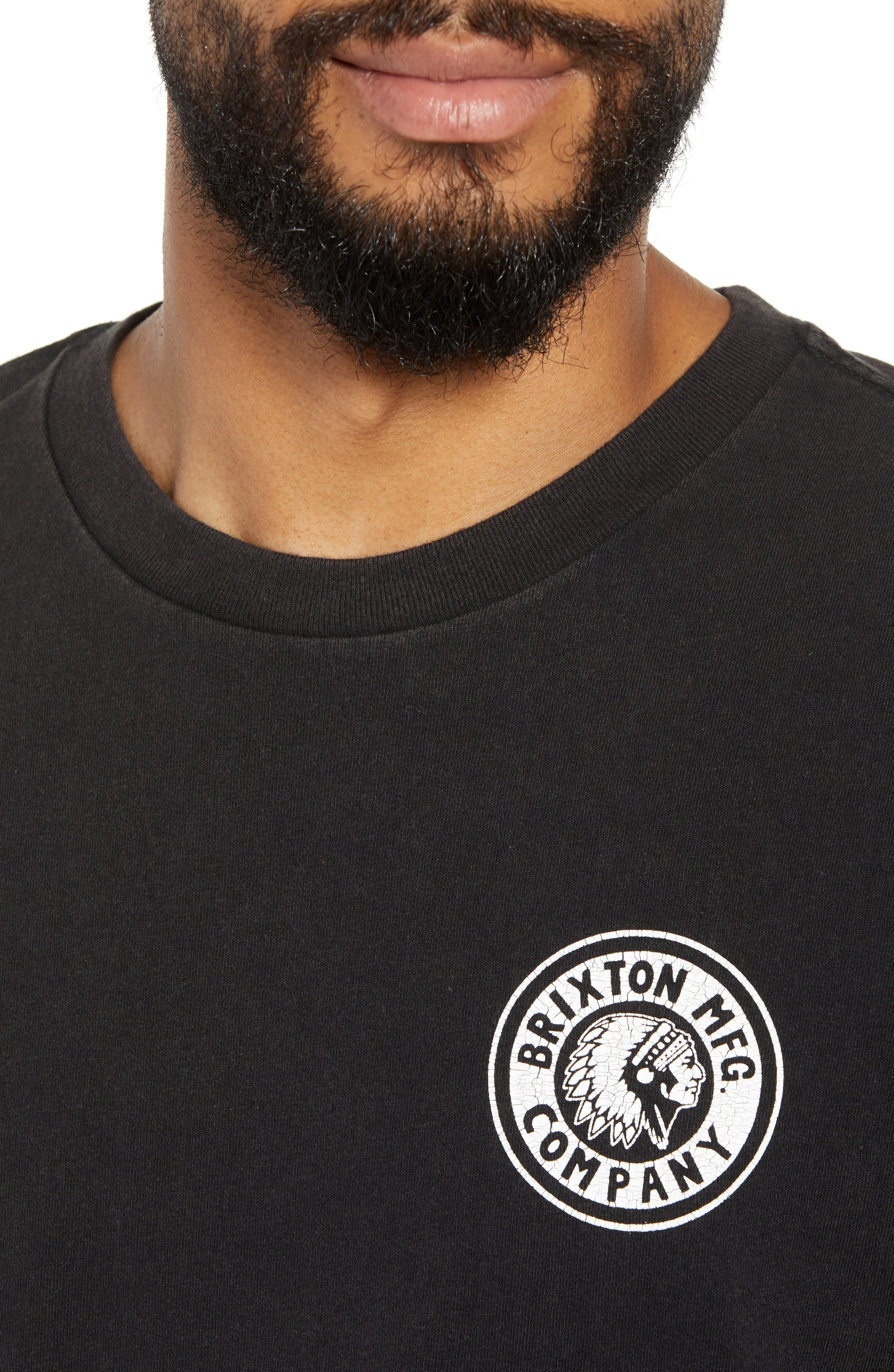 Rival II Graphic T-Shirt,                             Alternate thumbnail 3, color,                             Black/ White/ White