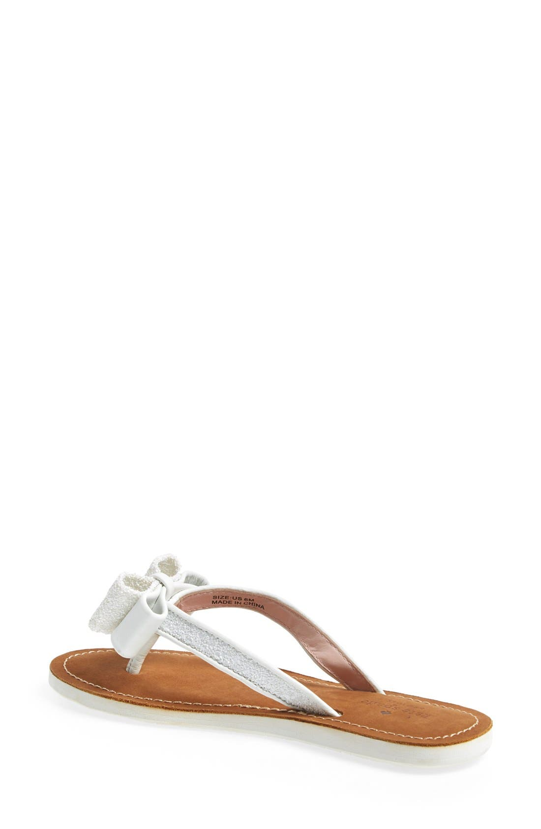 Alternate Image 2  - kate spade new york 'icarda' glitter flip flop (Women)