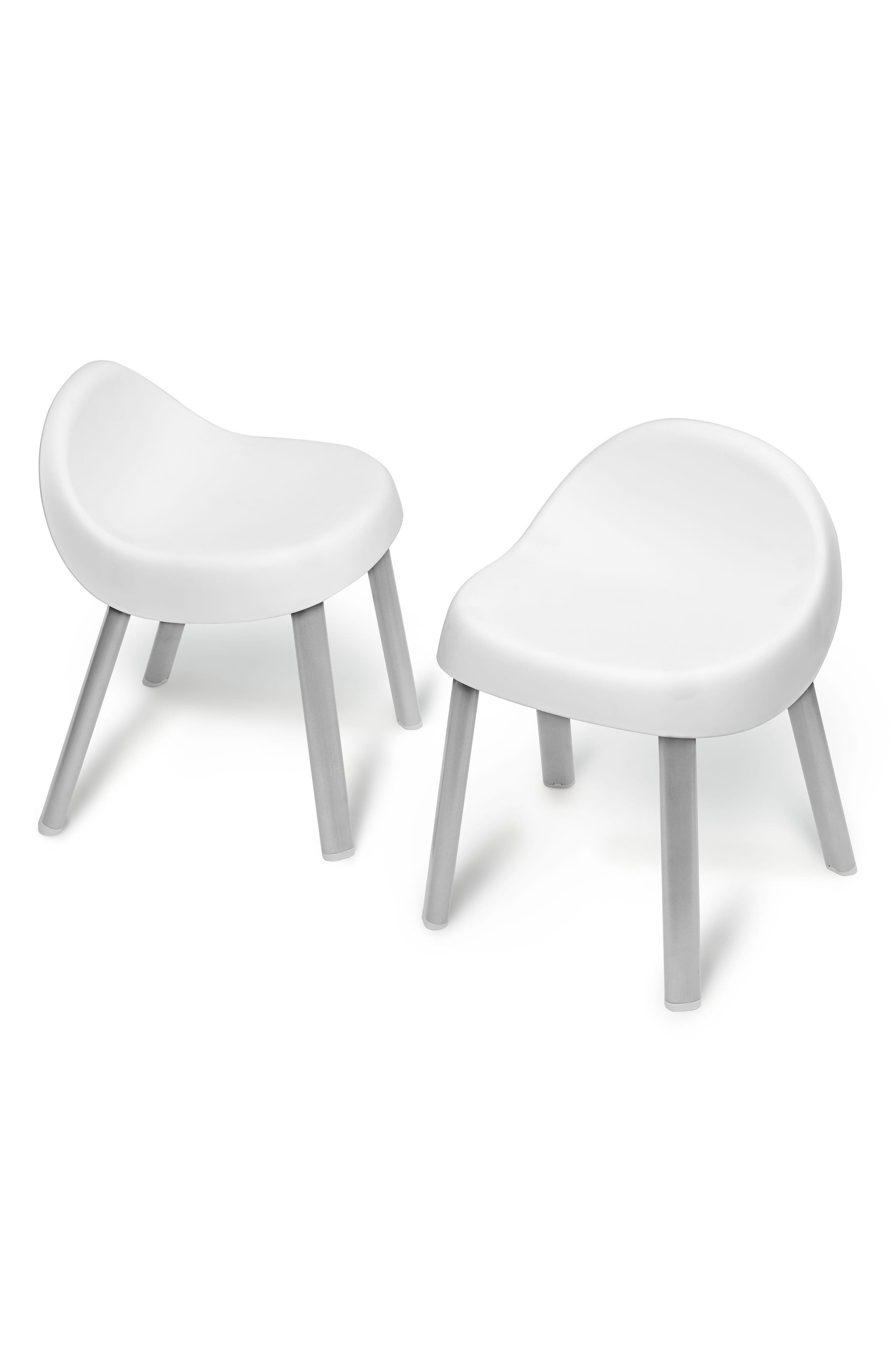 Explore & More Kids' Chairs,                             Main thumbnail 1, color,                             White