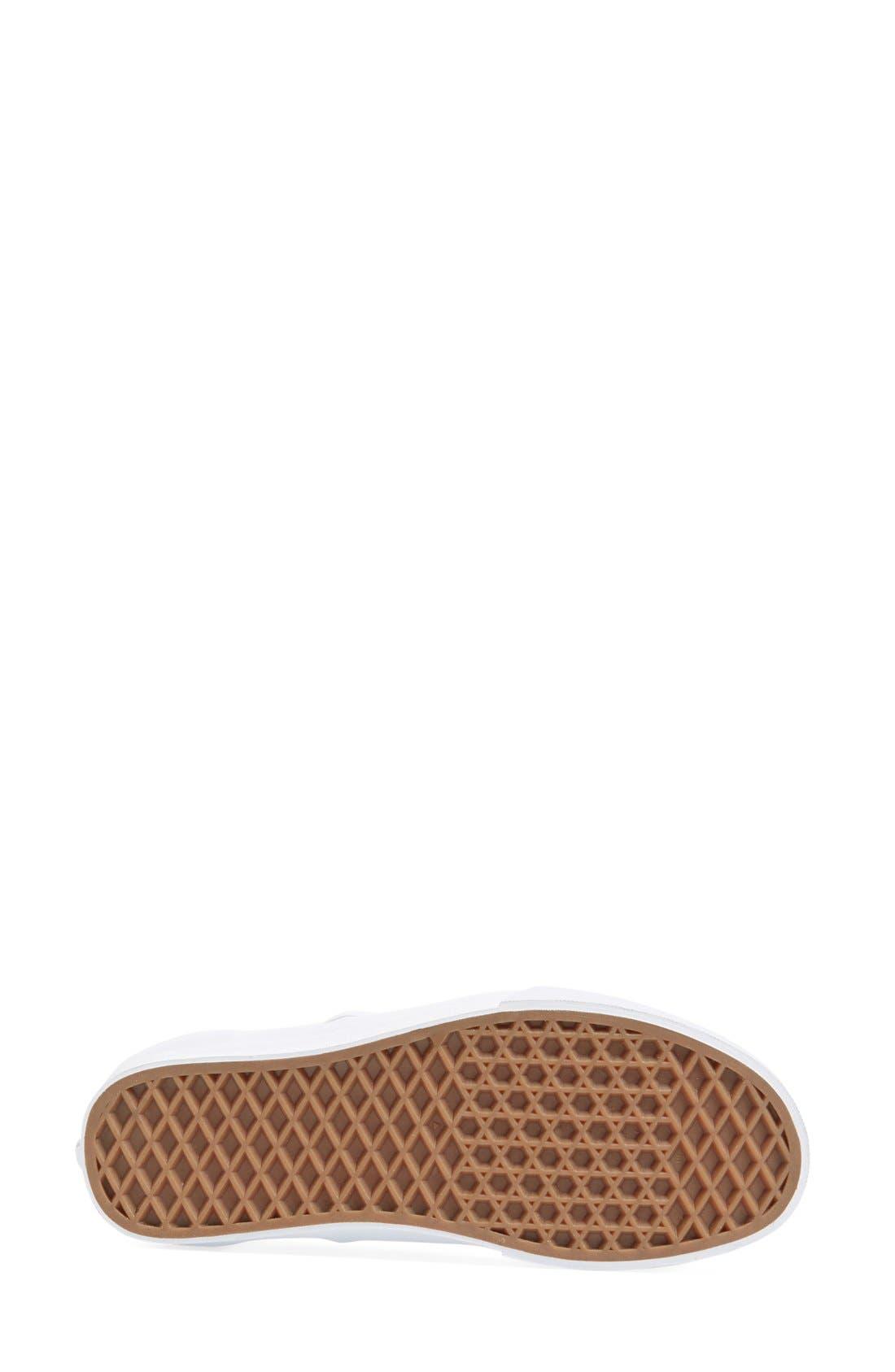 Alternate Image 4  - Vans Metallic Leather Slip-On Sneaker (Women)