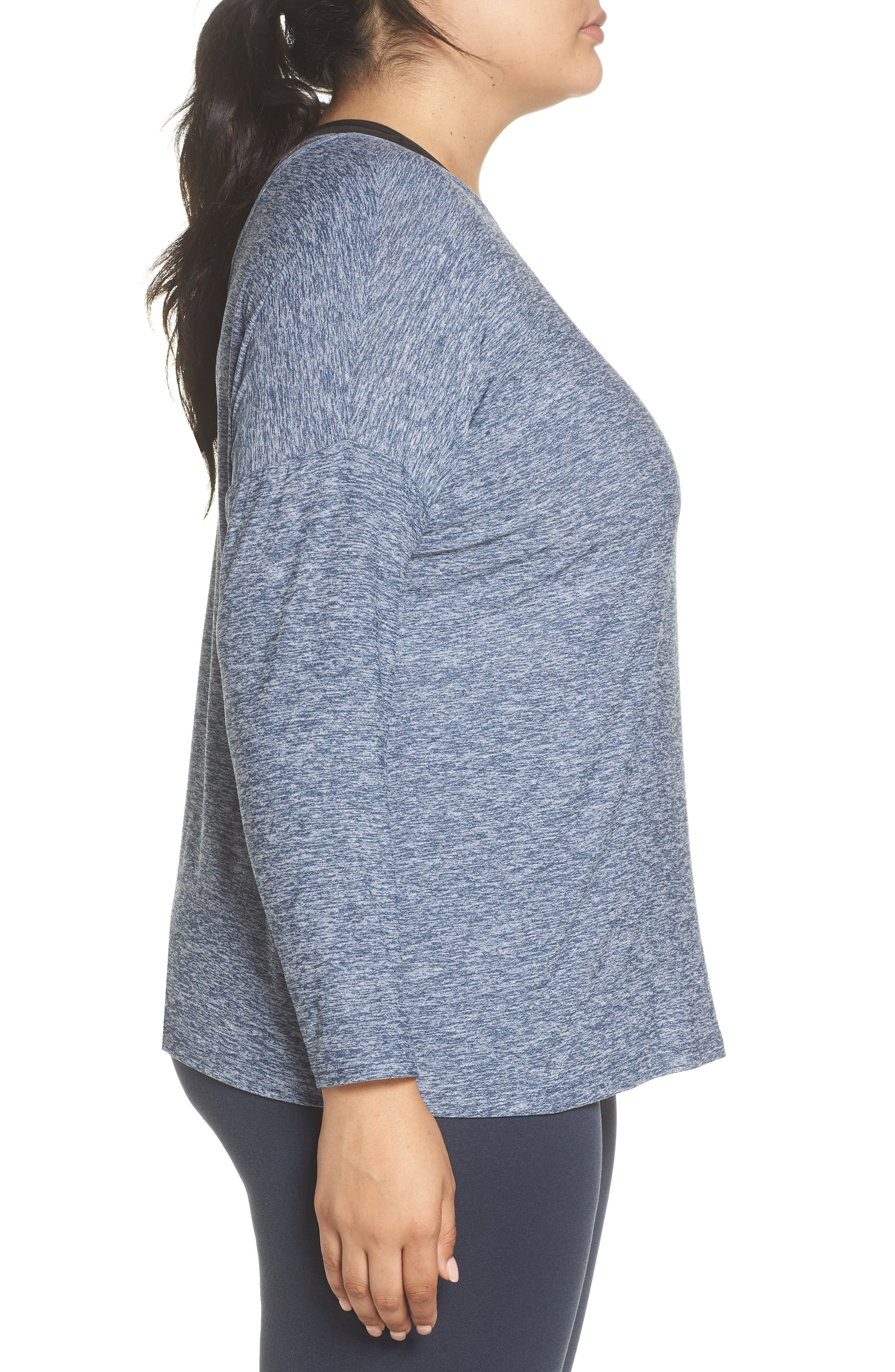 Weekend Traveler Pullover,                             Alternate thumbnail 4, color,                             White/ Outlaw Navy