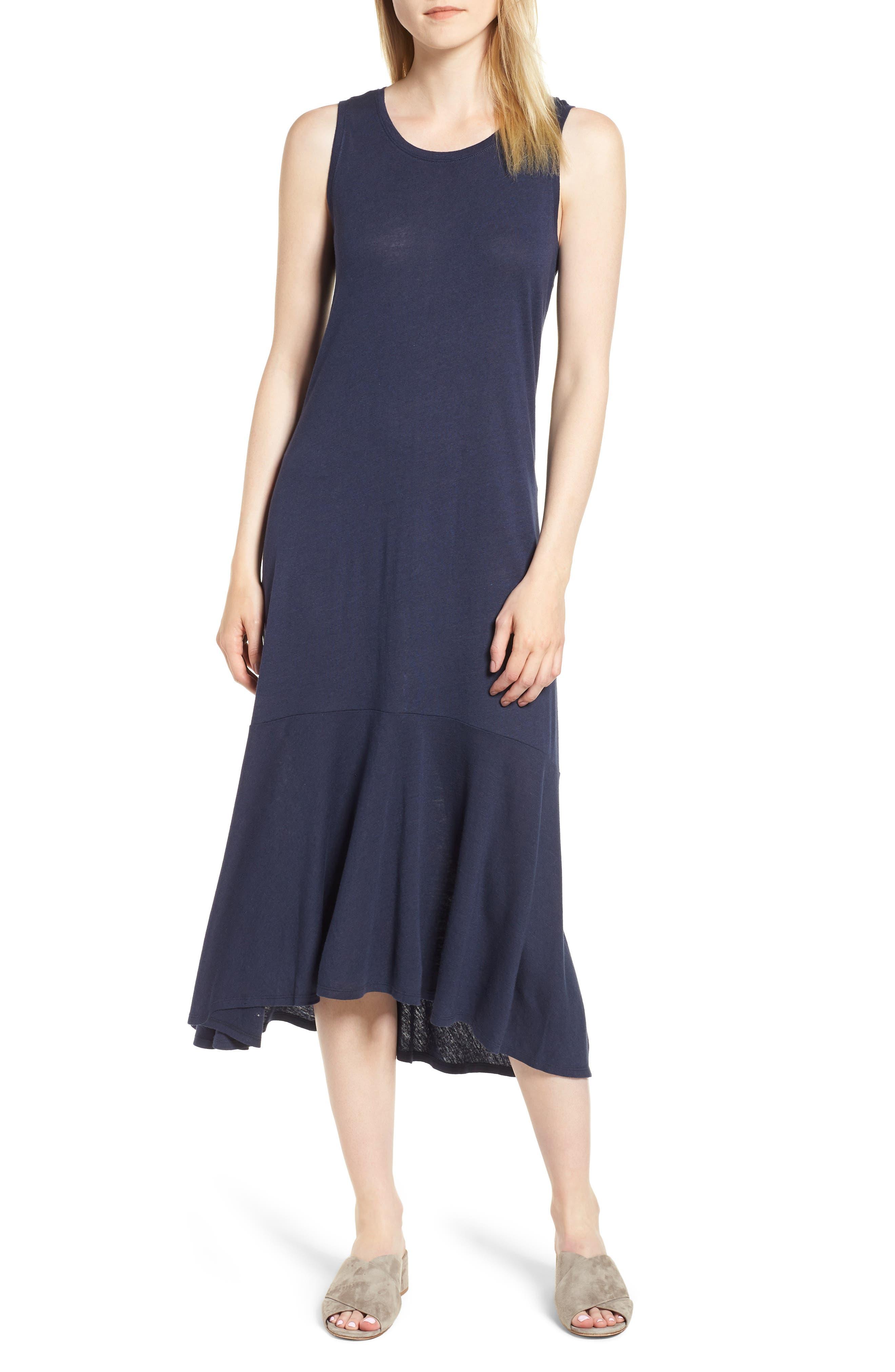 Road Trip Tank Dress,                         Main,                         color, Blueprint