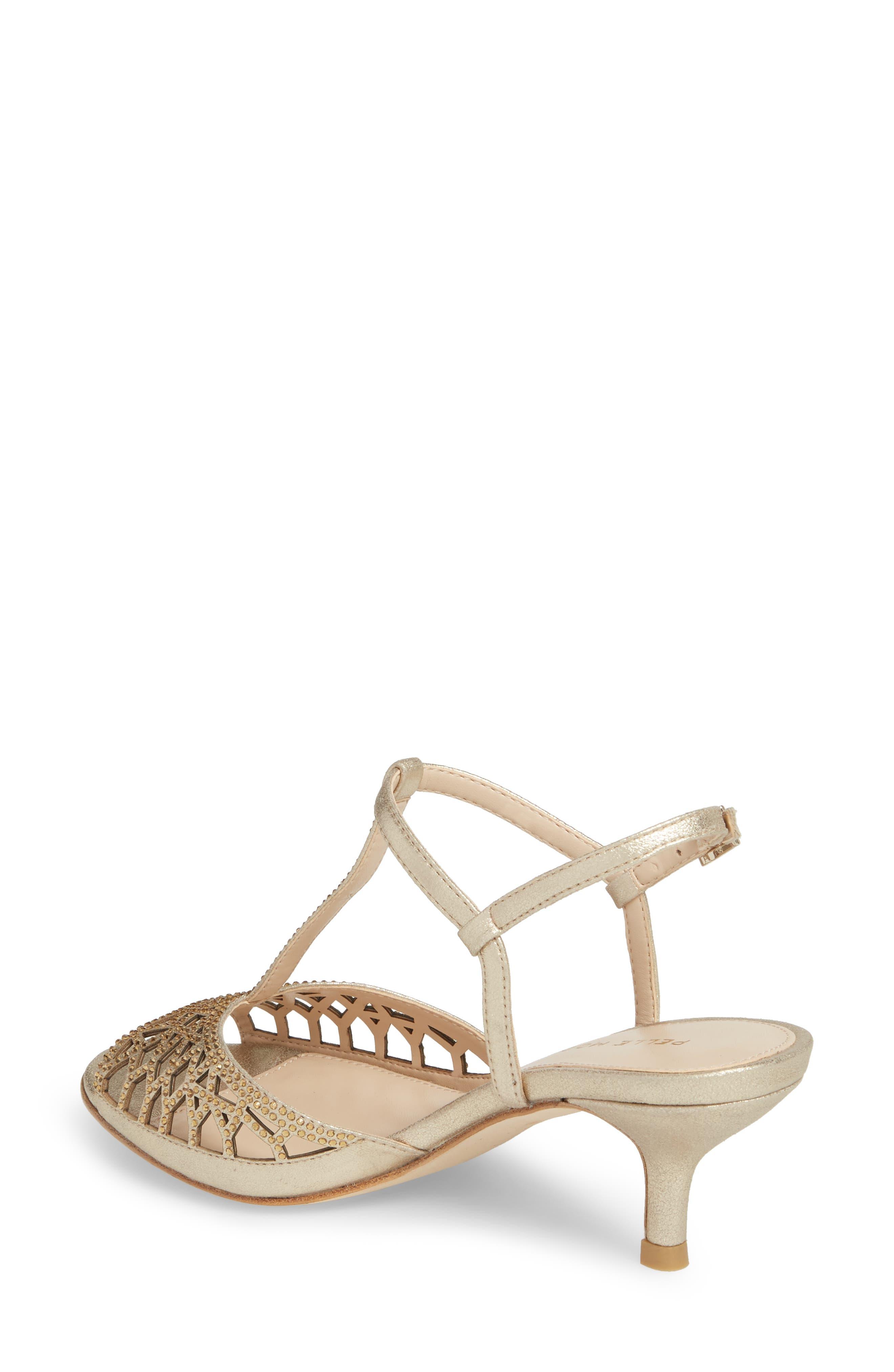 Adaline Embellished Sandal,                             Alternate thumbnail 2, color,                             Platinum Gold Metallic Suede