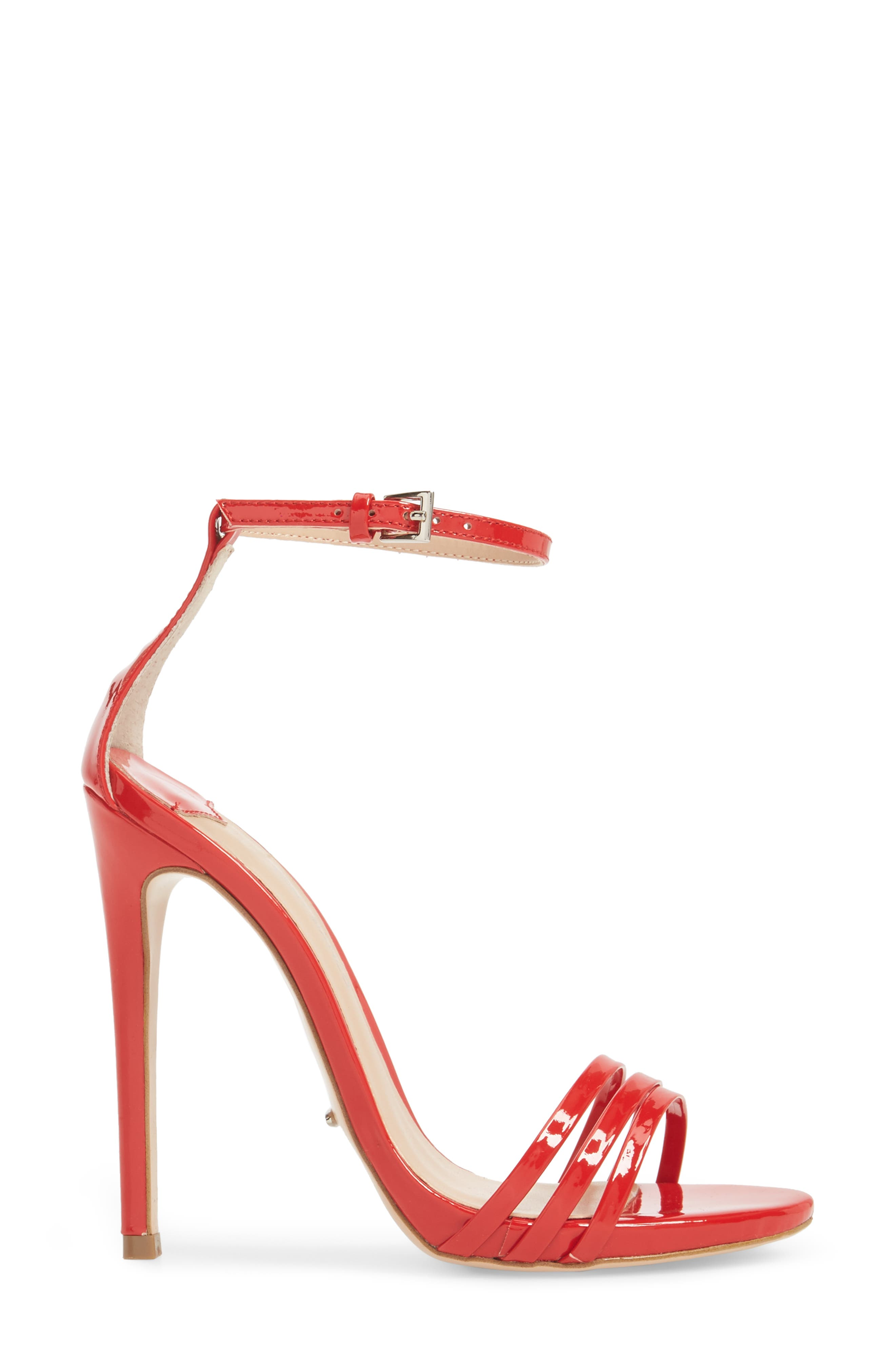 Aroma Strappy Sandal,                             Alternate thumbnail 6, color,                             Red Patent Leather