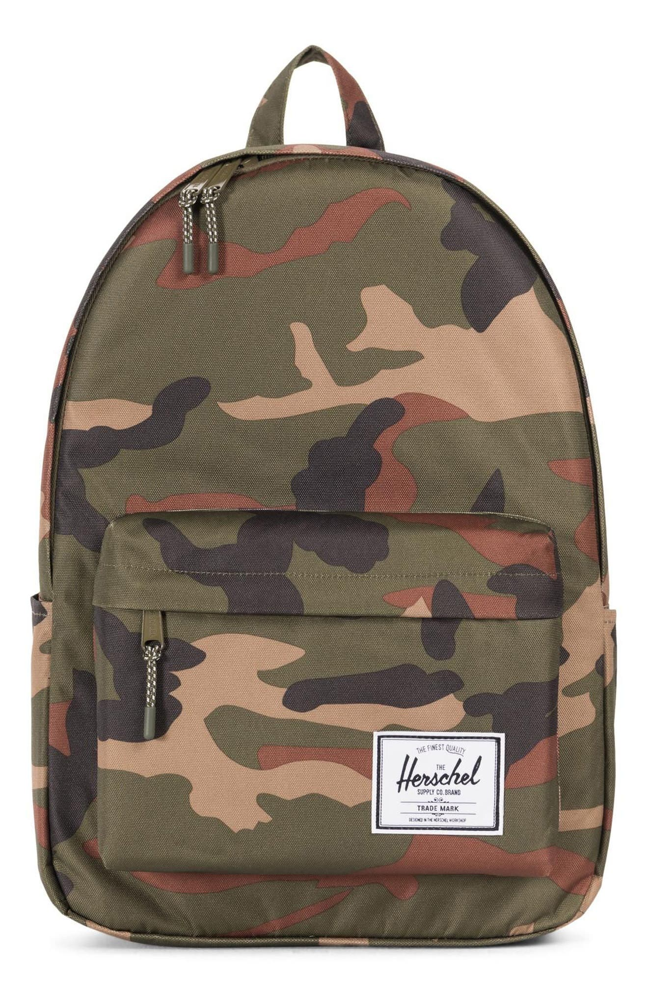 HERITAGE PRINT BACKPACK - GREEN