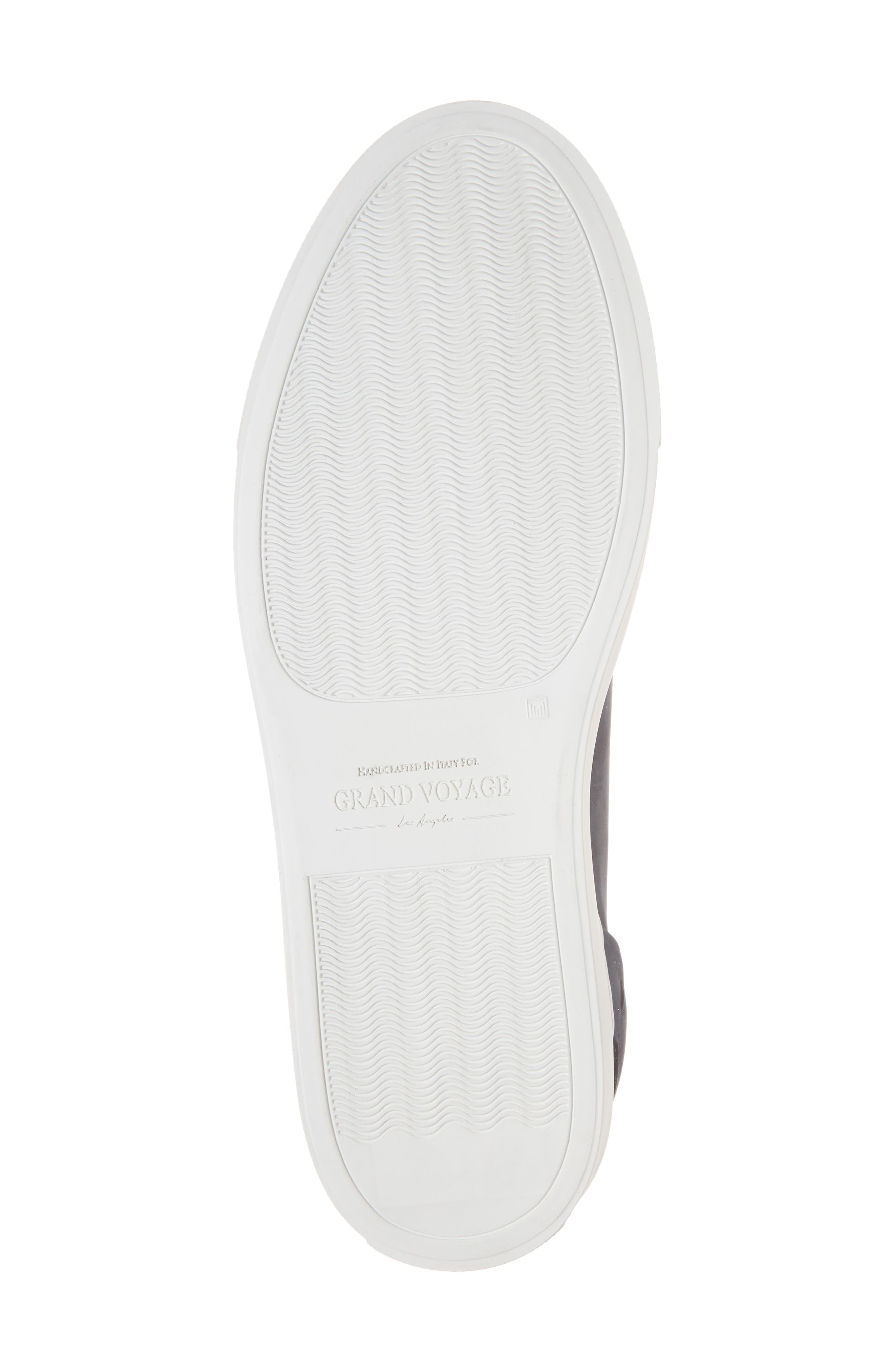 Avedon Sneaker,                             Alternate thumbnail 6, color,                             Navy Nubuck Leather