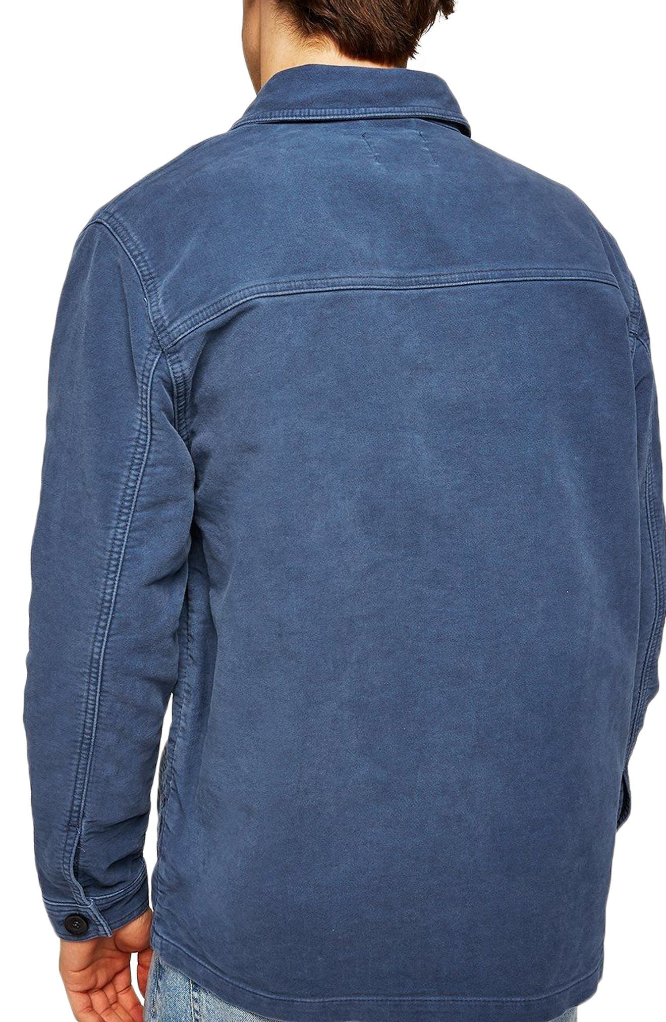 Classic Fit Work Jacket,                             Alternate thumbnail 2, color,                             Blue