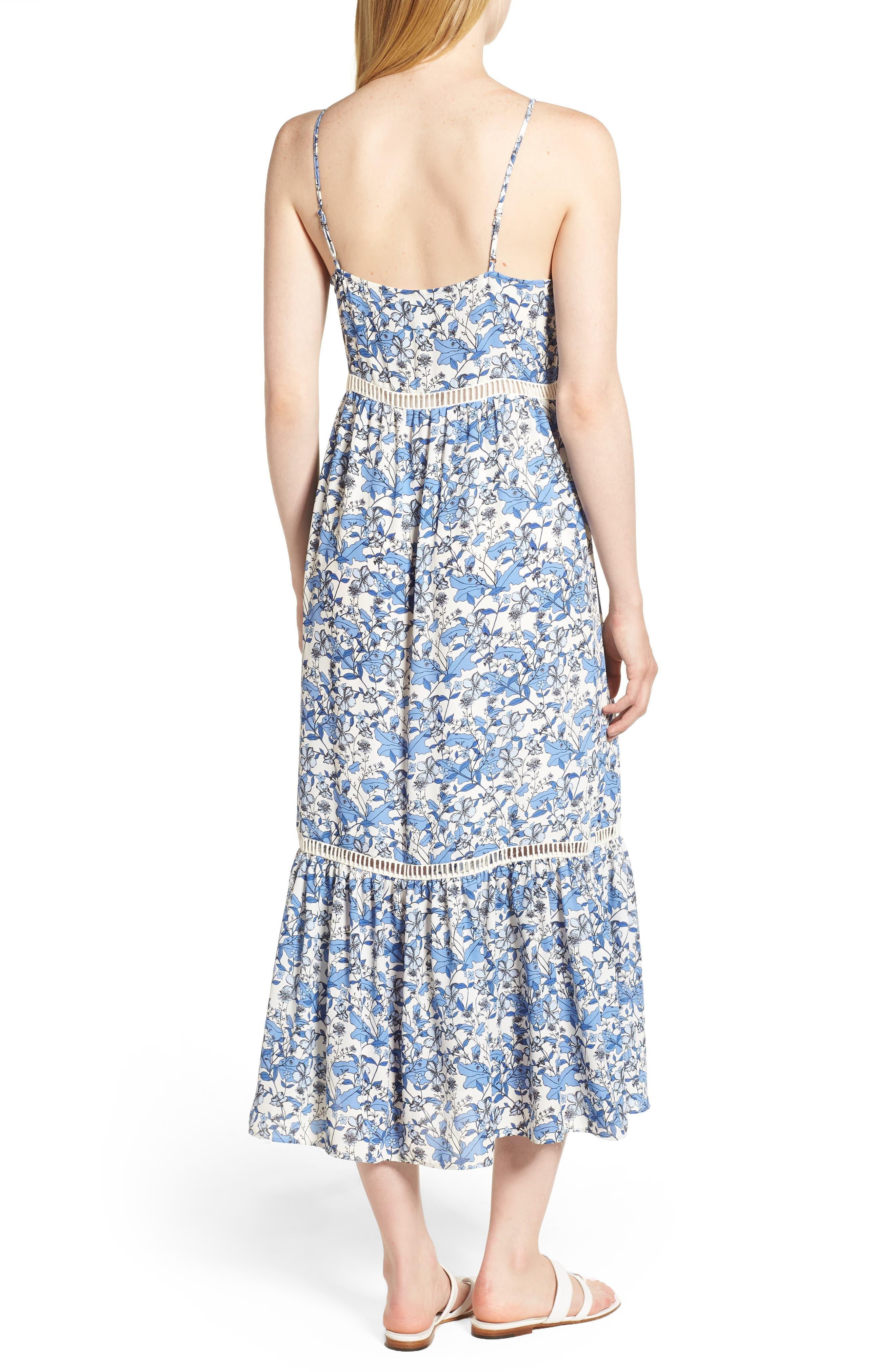 Ivy Forest Maxi Dress,                             Alternate thumbnail 2, color,                             Antique White