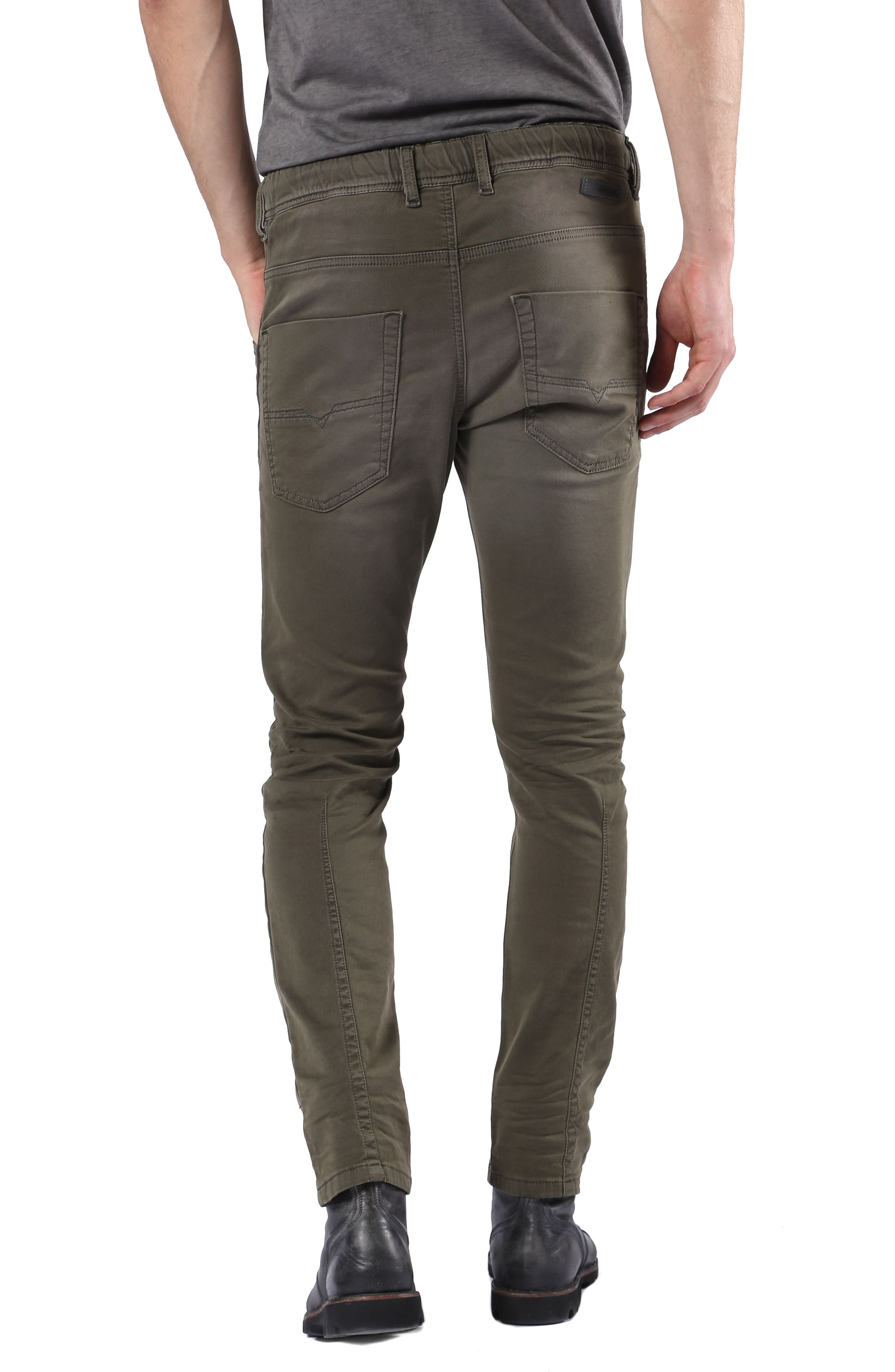 Krooley Slouchy Skinny Fit Jeans,                             Alternate thumbnail 2, color,                             0670M