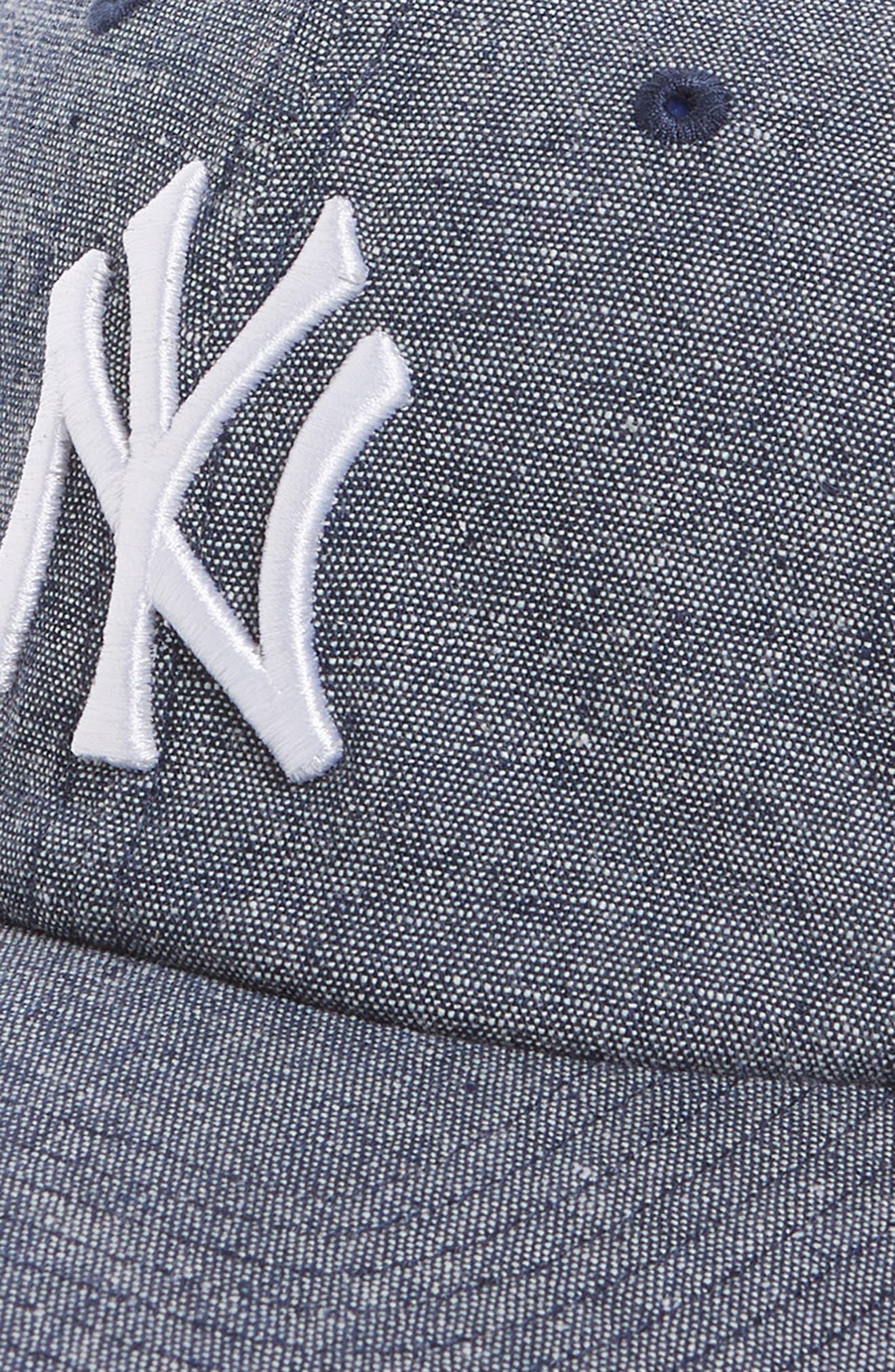 Emery Clean Up NY Yankees Baseball Cap,                             Alternate thumbnail 3, color,                             Navy