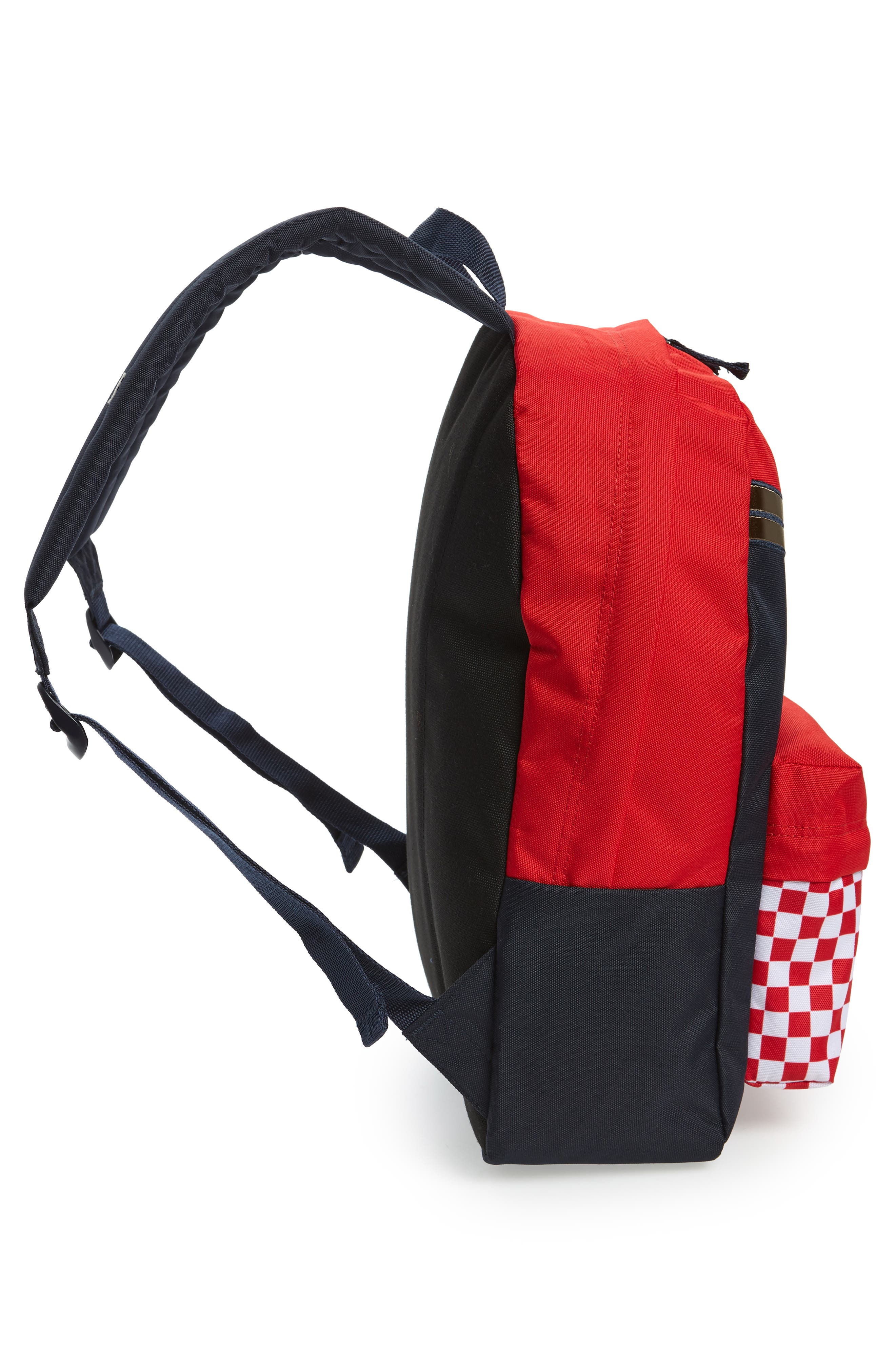 x Marvel<sup>®</sup> Captain Marvel Realm Backpack,                             Alternate thumbnail 2, color,                             Racing Red