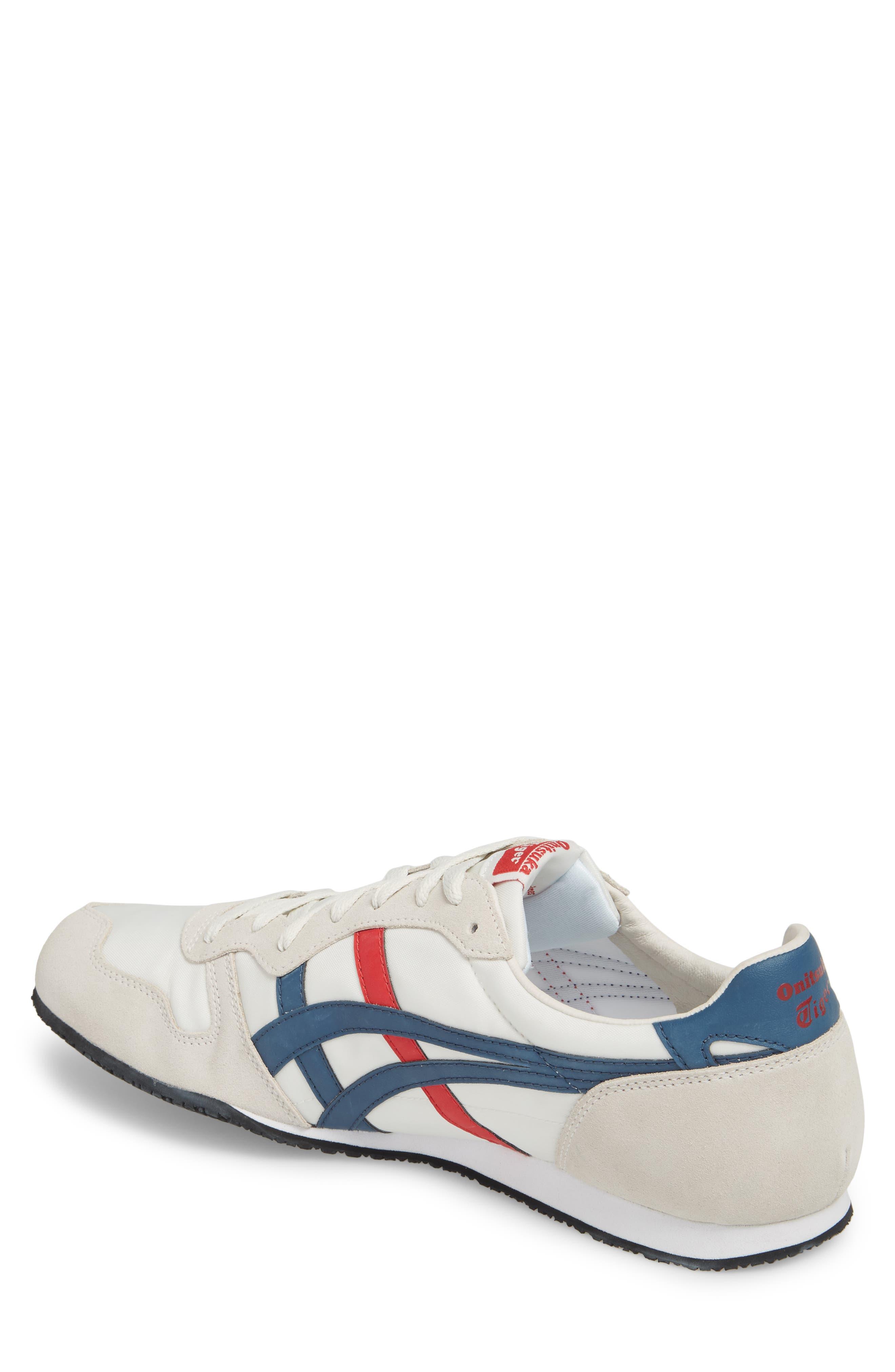 'Serrano' Sneaker,                             Alternate thumbnail 2, color,                             White/ Mallard Blue