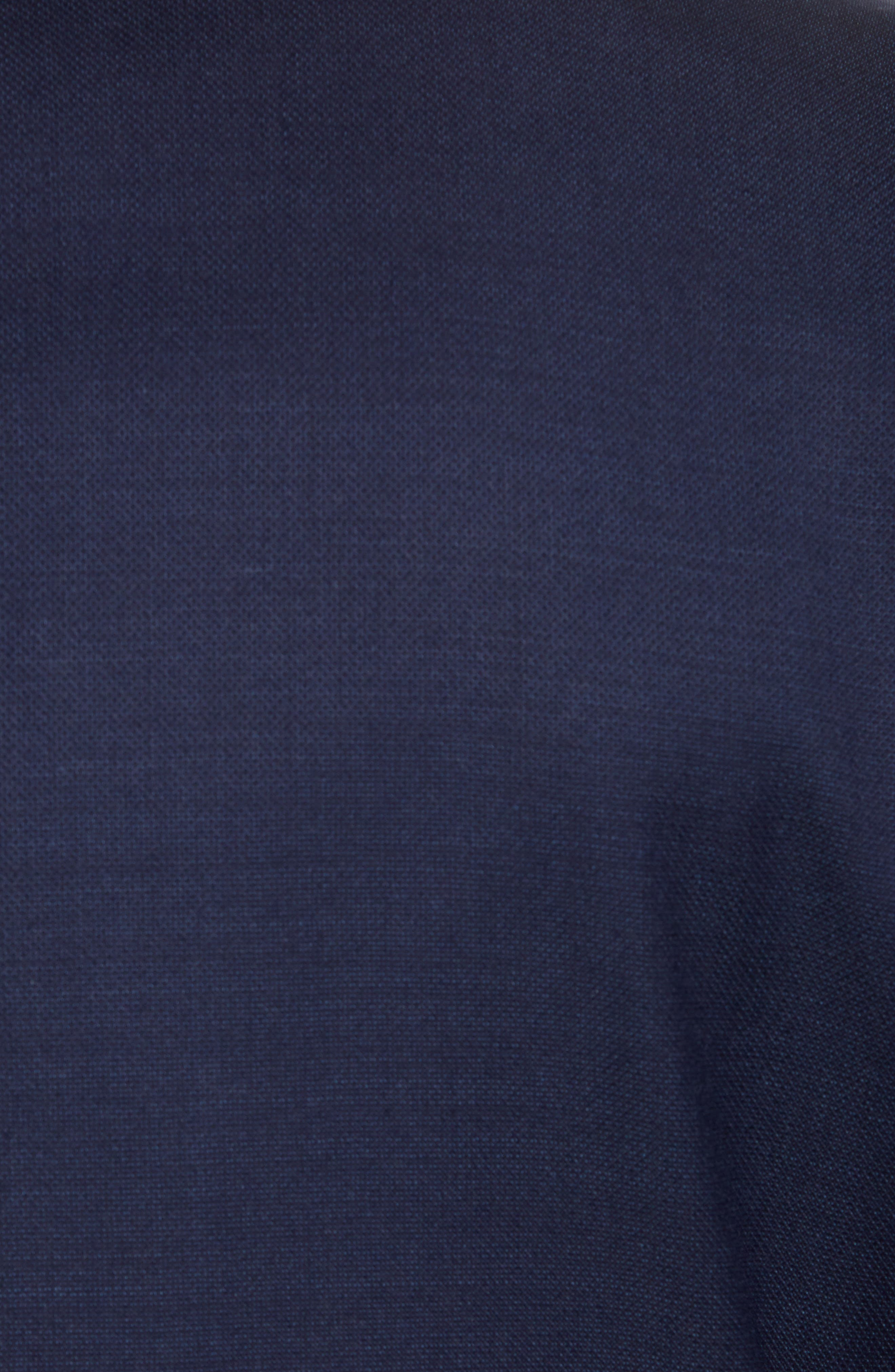 Traditional Fit Wool Blazer,                             Alternate thumbnail 3, color,                             Navy