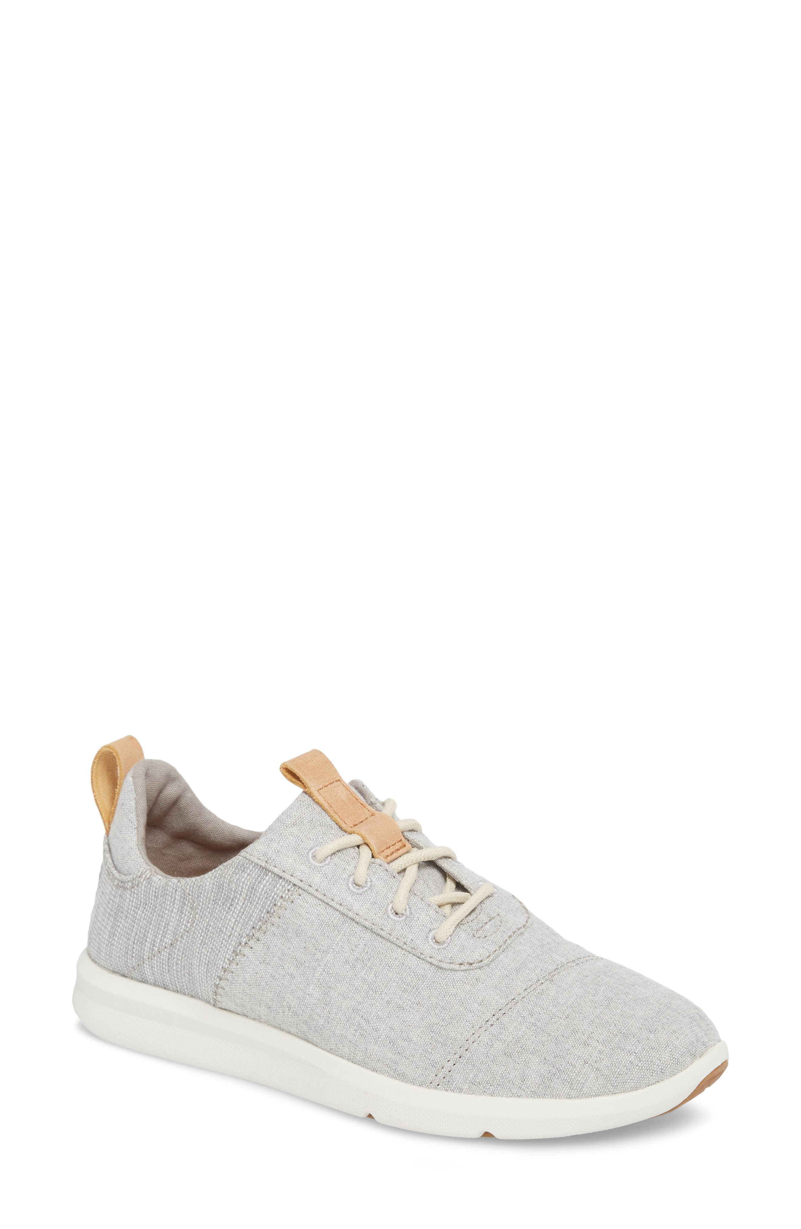 Cabrillo Sneaker,                         Main,                         color, Drizzle Grey Chambray Mix