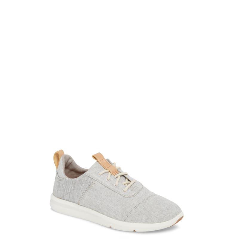 Cabrillo Sneaker, Main, color, Drizzle Grey Chambray Mix