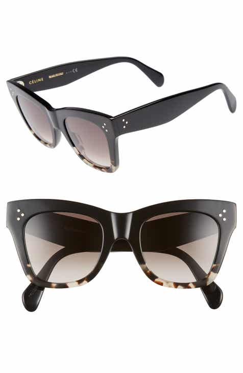 c20cac378aa7 CELINE 50mm Gradient Butterfly Sunglasses