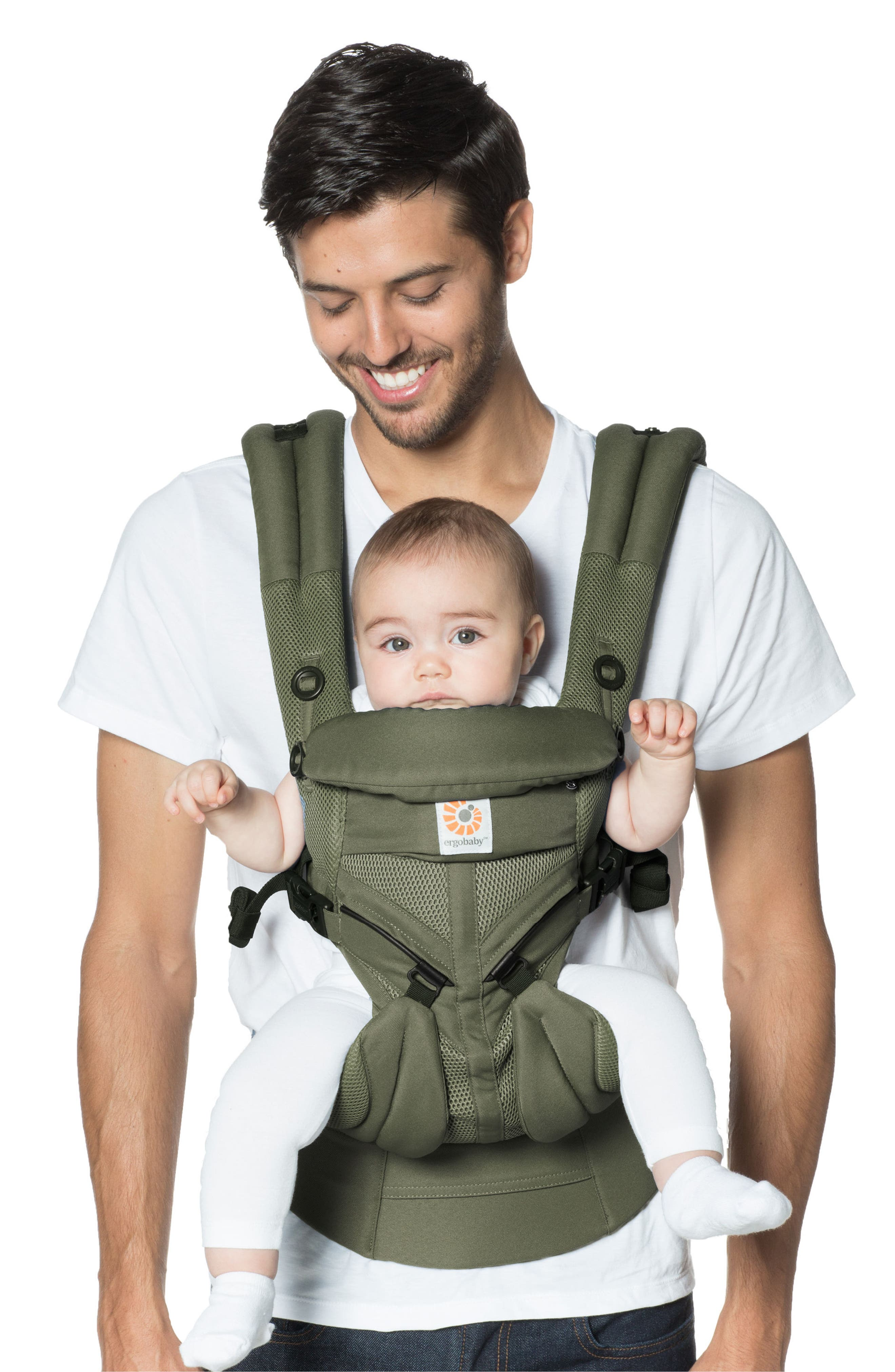 Omni 360 - Cool Air Baby Carrier,                             Alternate thumbnail 2, color,                             Khaki Green