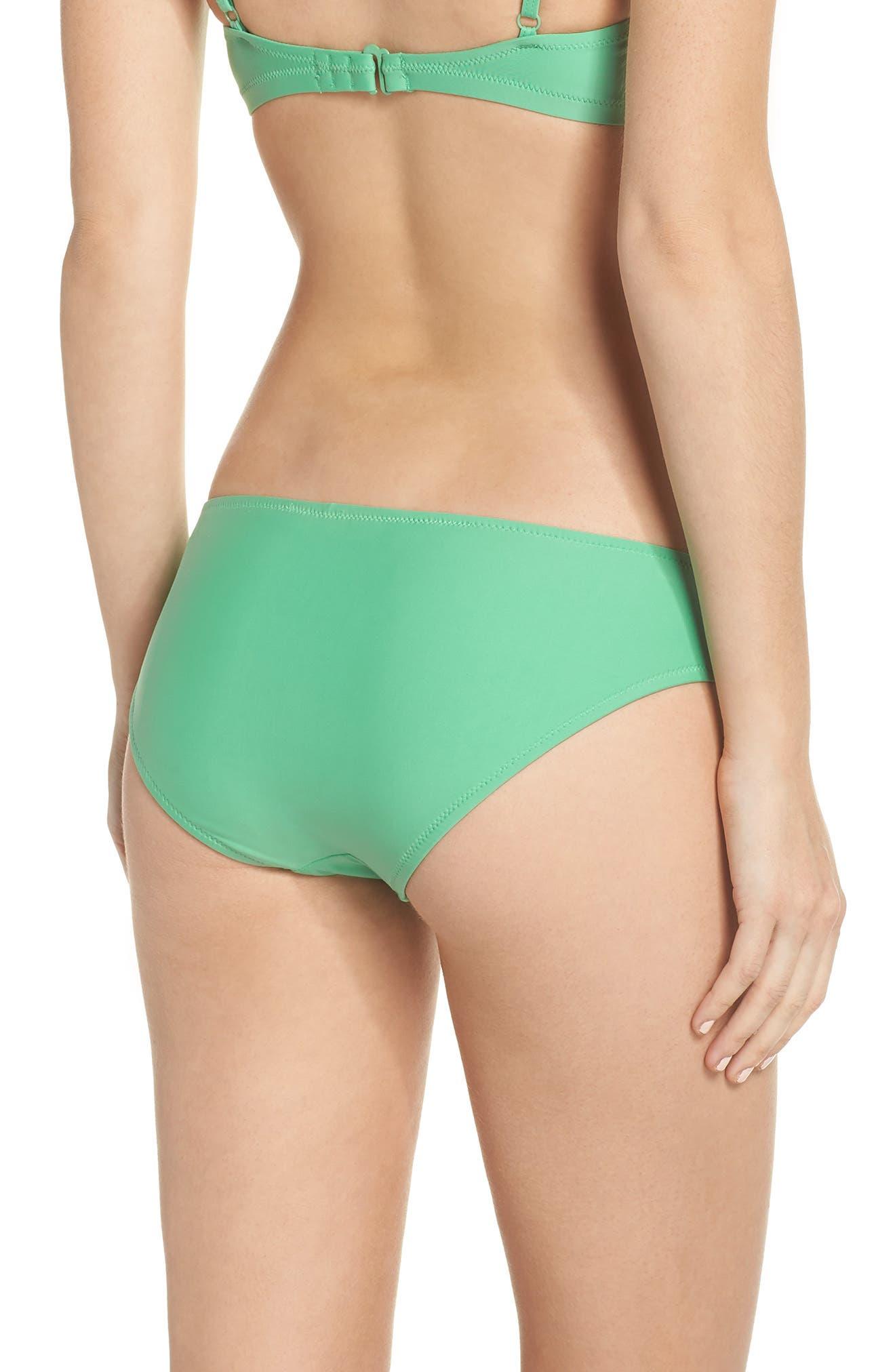 J.Crew Hipster Bikini Bottoms,                             Alternate thumbnail 2, color,                             Bright Spearmint