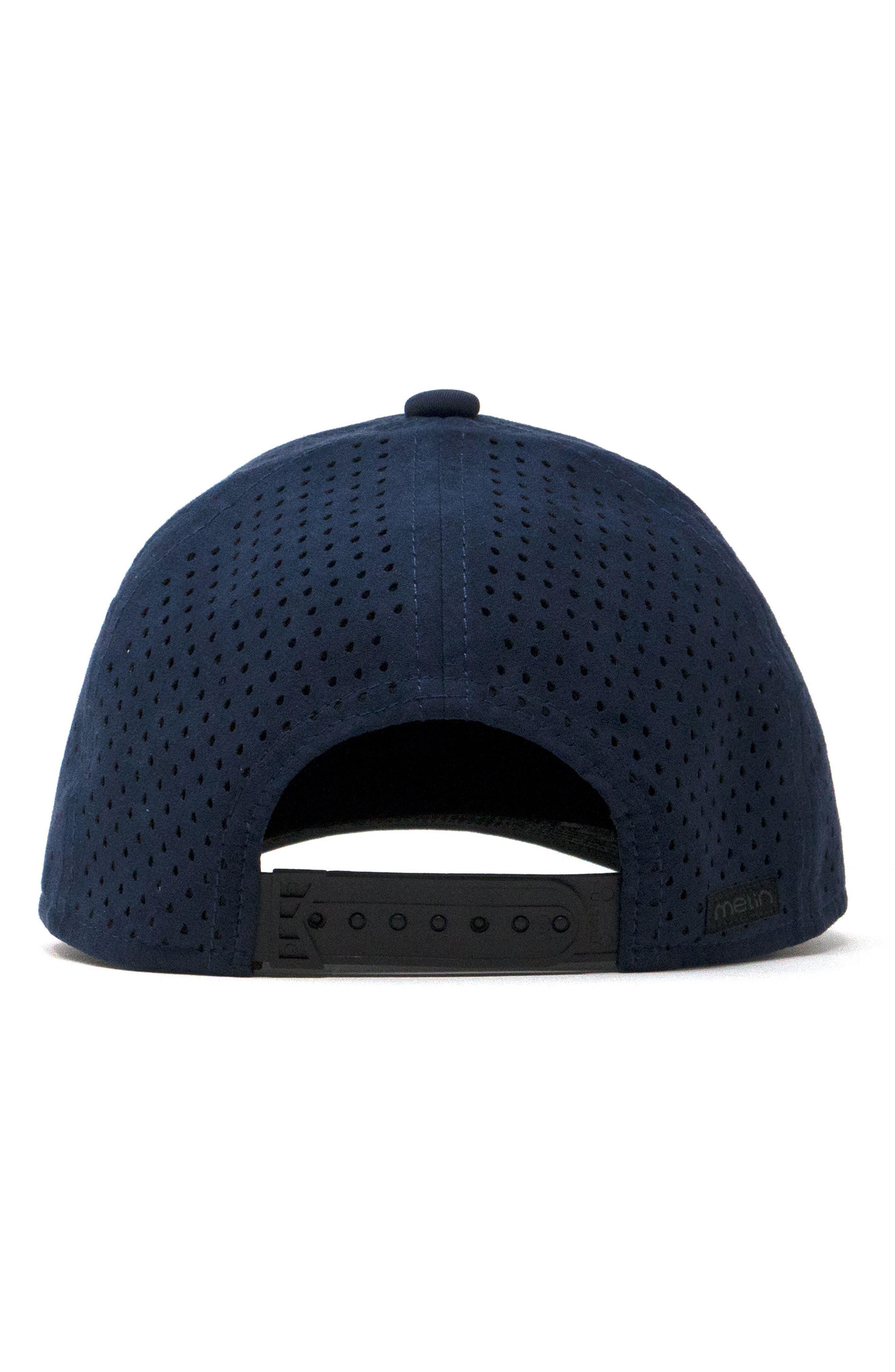 Trooper II Snapback Baseball Cap,                             Alternate thumbnail 4, color,                             Navy