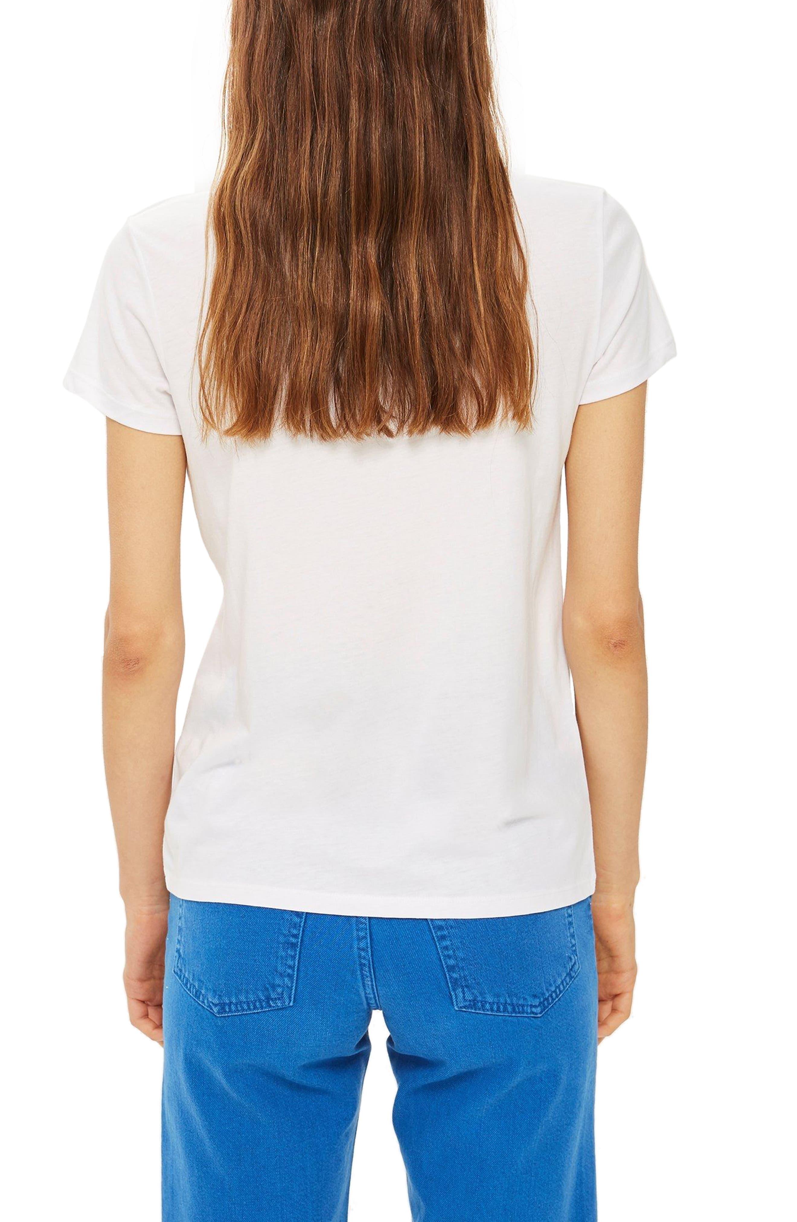 Satsuma Retro T-Shirt,                             Alternate thumbnail 2, color,                             White Multi