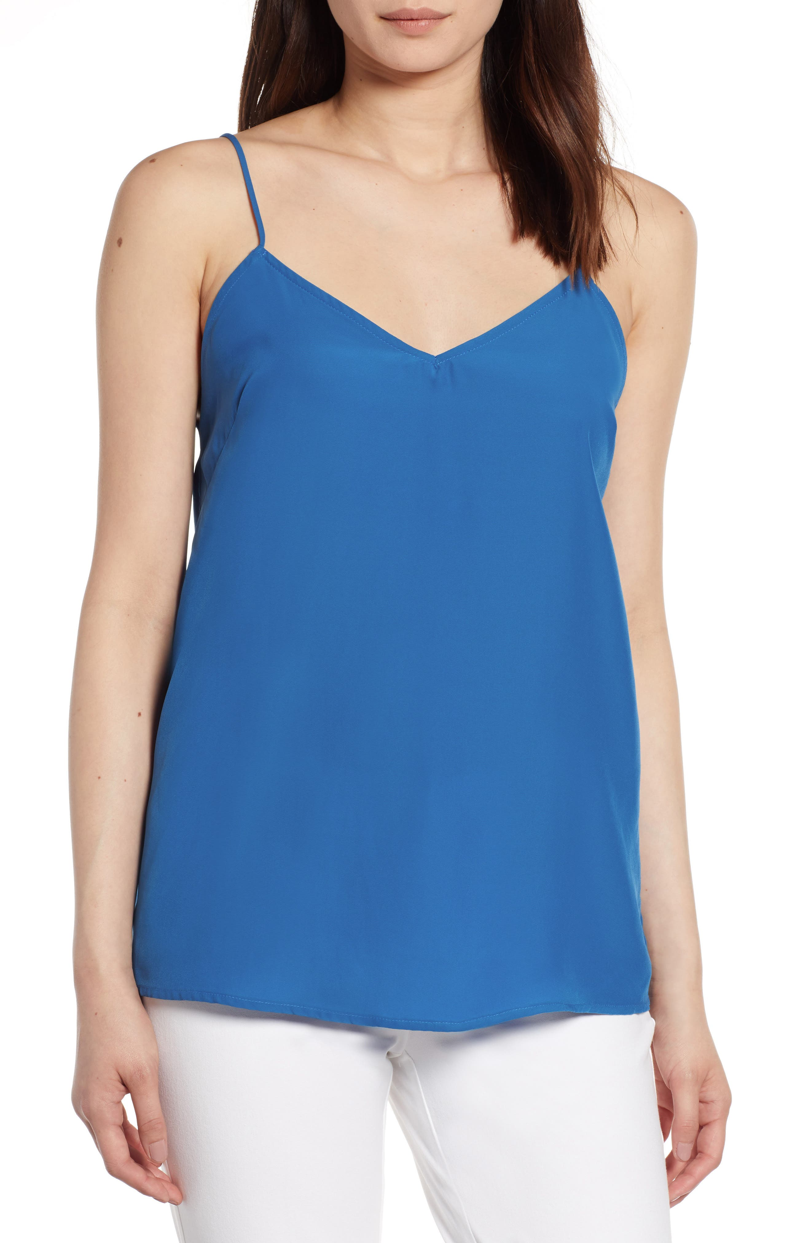 Camisole,                         Main,                         color, Snorkel Blue