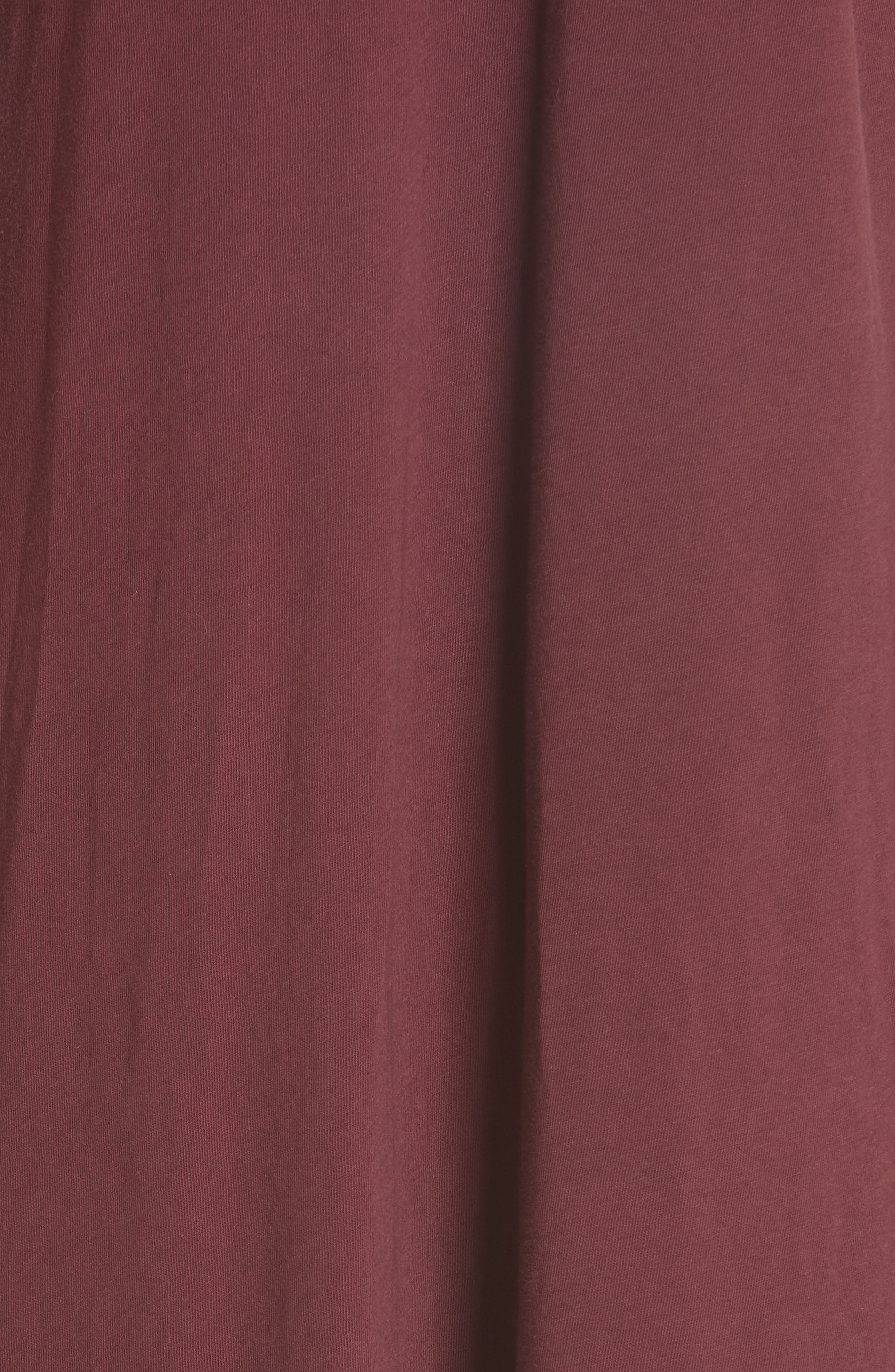 The Swing Tank Dress,                             Alternate thumbnail 5, color,                             Maroon