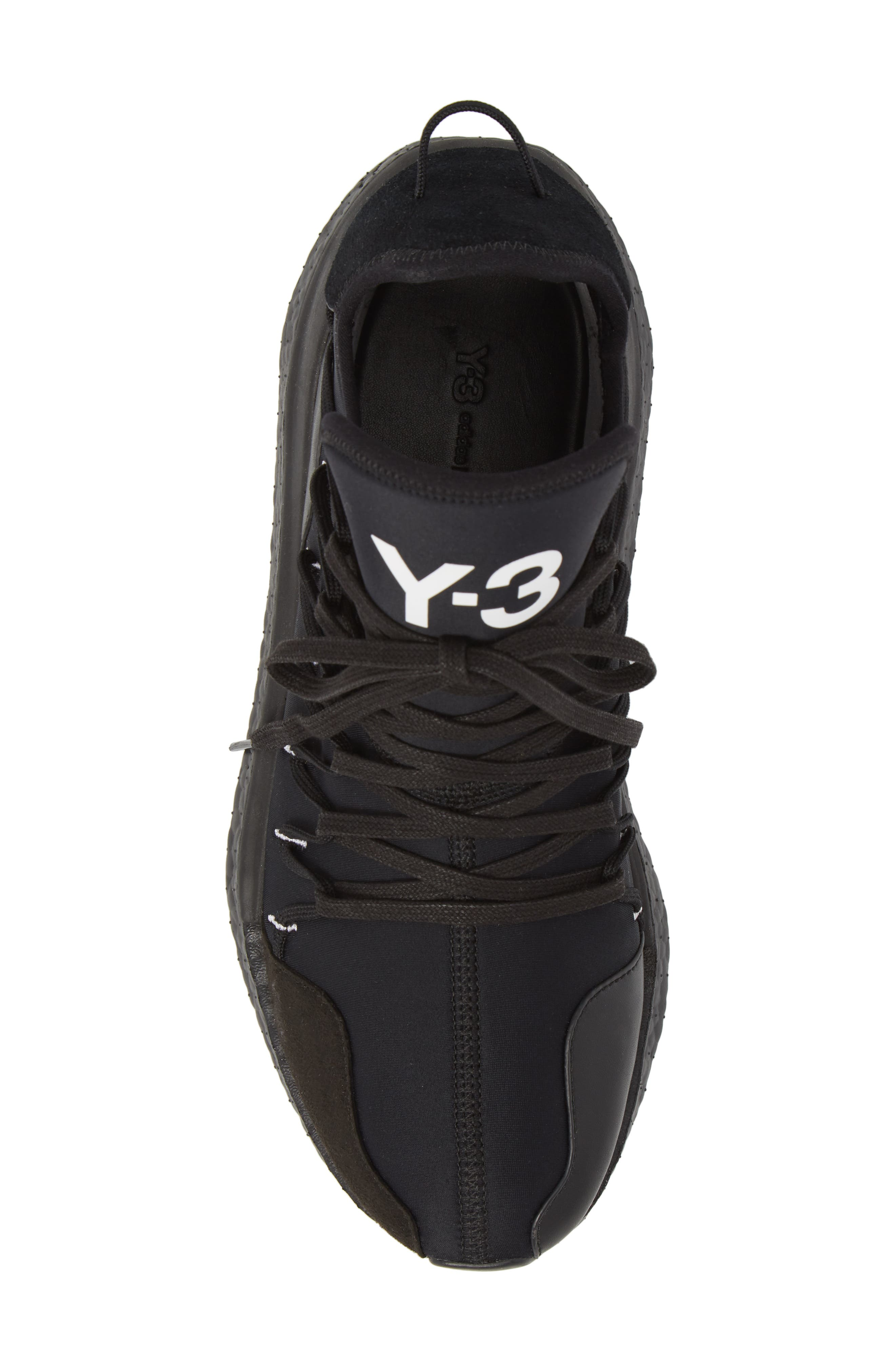 x adidas Kusari Sneaker,                             Alternate thumbnail 3, color,                             Black/Black