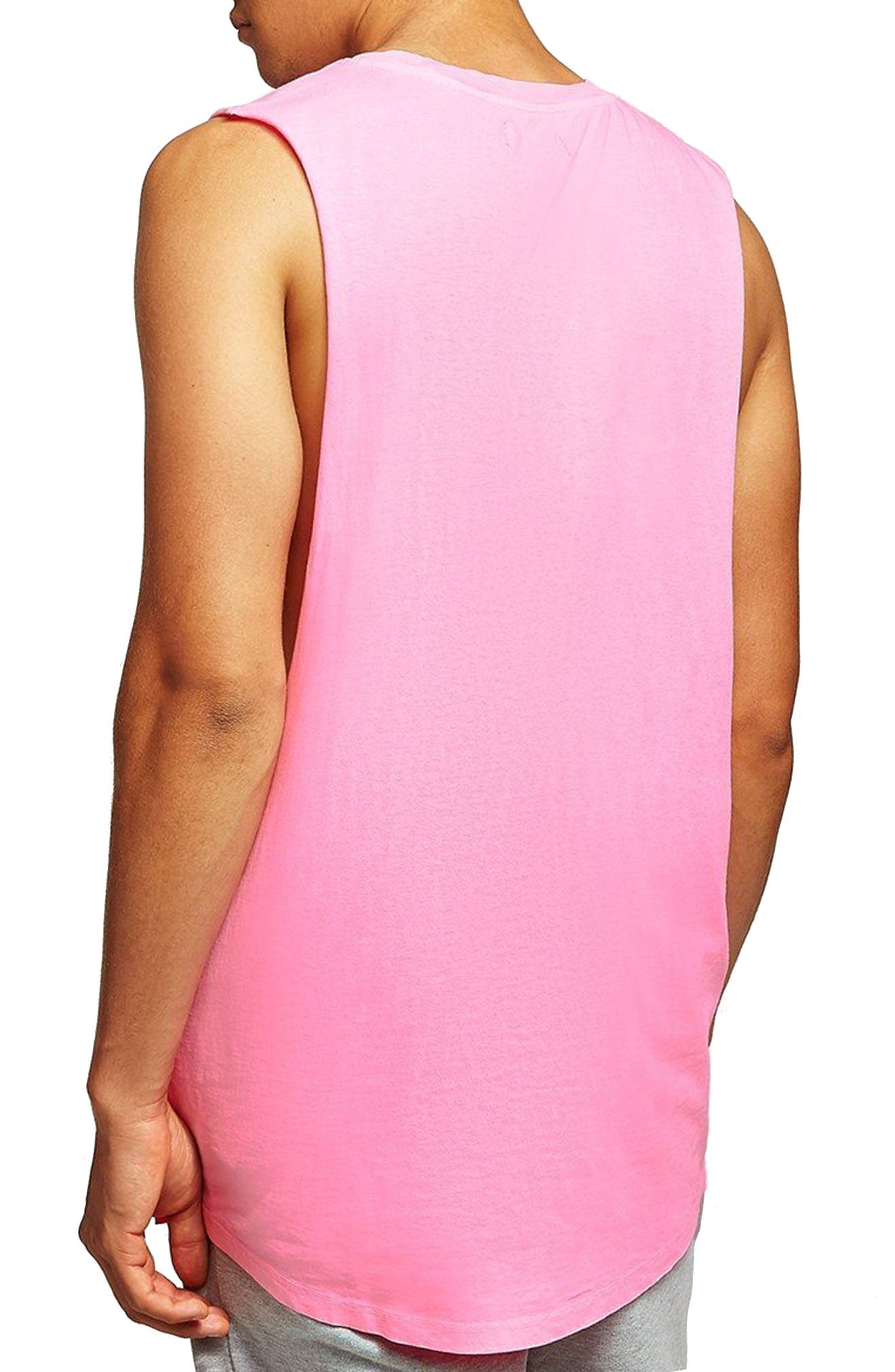 Neon Tank,                             Alternate thumbnail 2, color,                             Pink