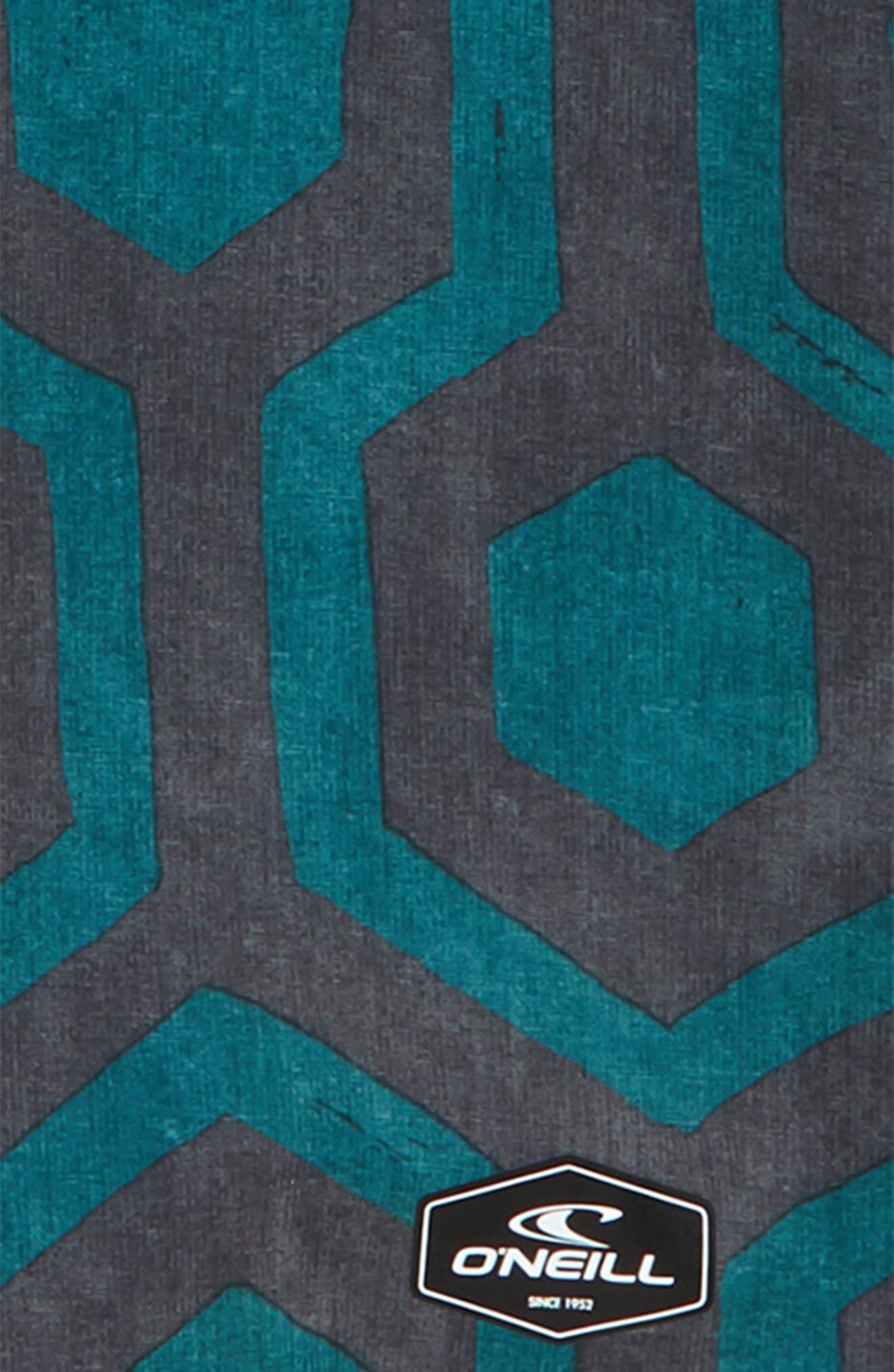 Hyperfreak Wrenched Board Shorts,                             Alternate thumbnail 2, color,                             Asphalt