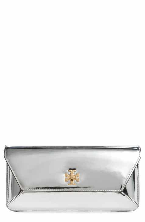 5947b3afc874 Tory Burch Kira Leather Envelope Clutch