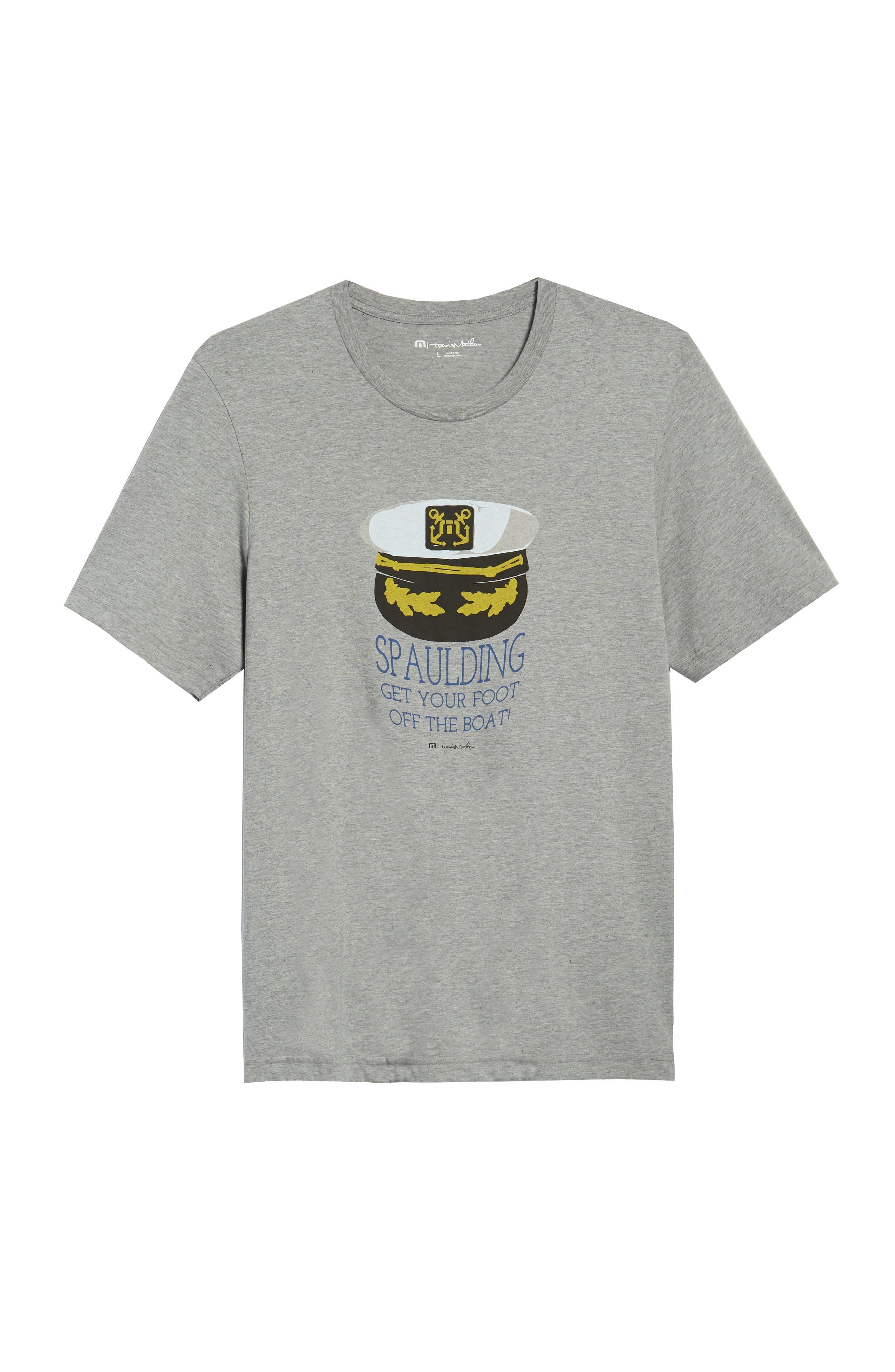 'Spaulding' Graphic T-Shirt,                             Alternate thumbnail 6, color,                             Heather Grey