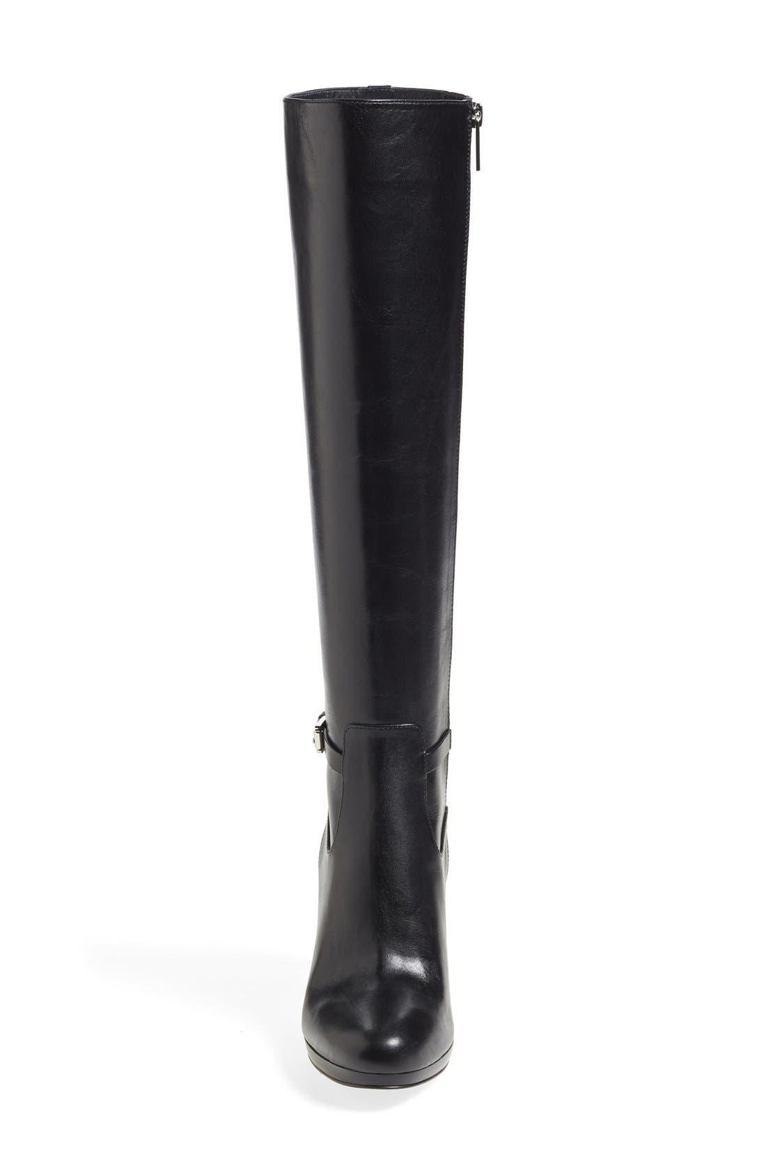 Alternate Image 3  - MICHAEL Michael Kors 'Woods' Knee High Platform Boot (Women) (Nordstrom Exclusive)