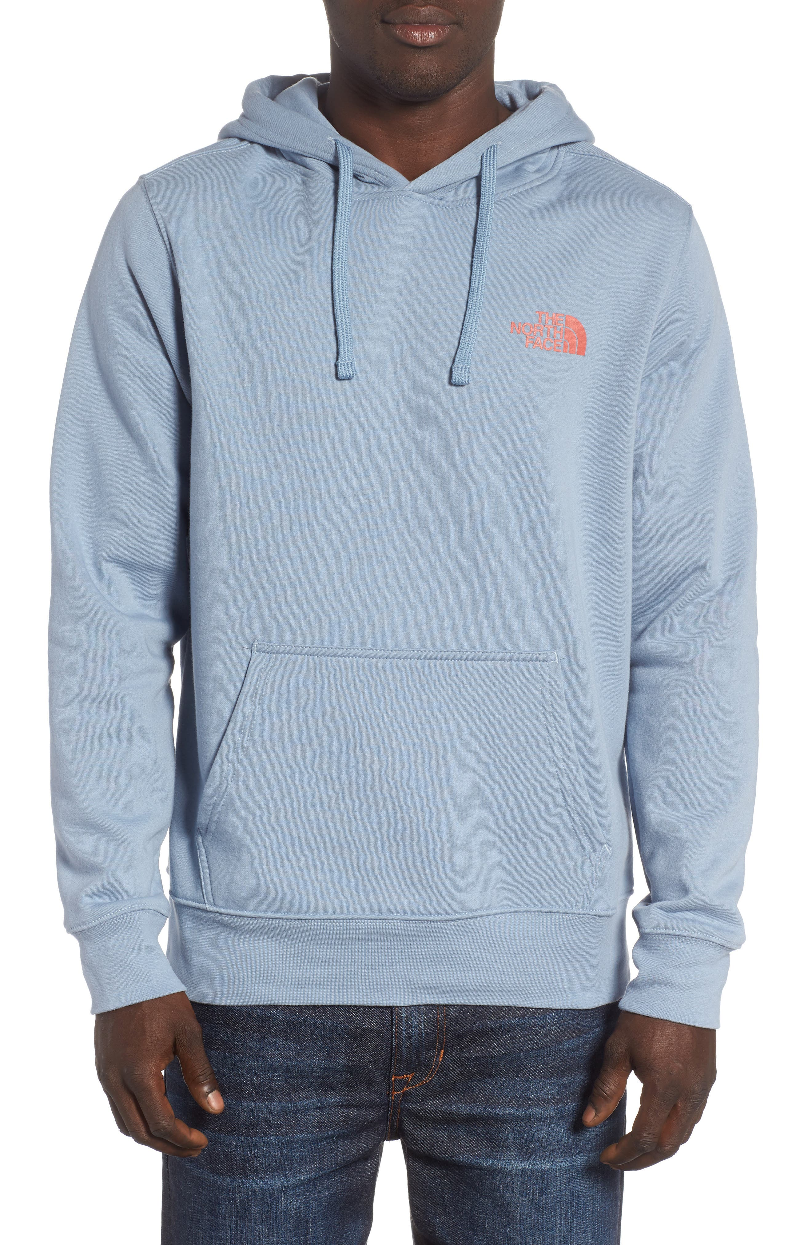 Red Box Hoodie,                         Main,                         color, Gull Blue