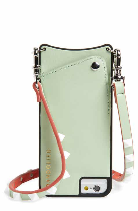 Bandolier Sarah Leather Iphone 6 7 8 Plus Crossbody Case