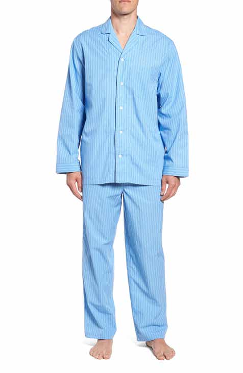 Nordstrom Men s Shop Poplin Pajama Set 29cc9ad15