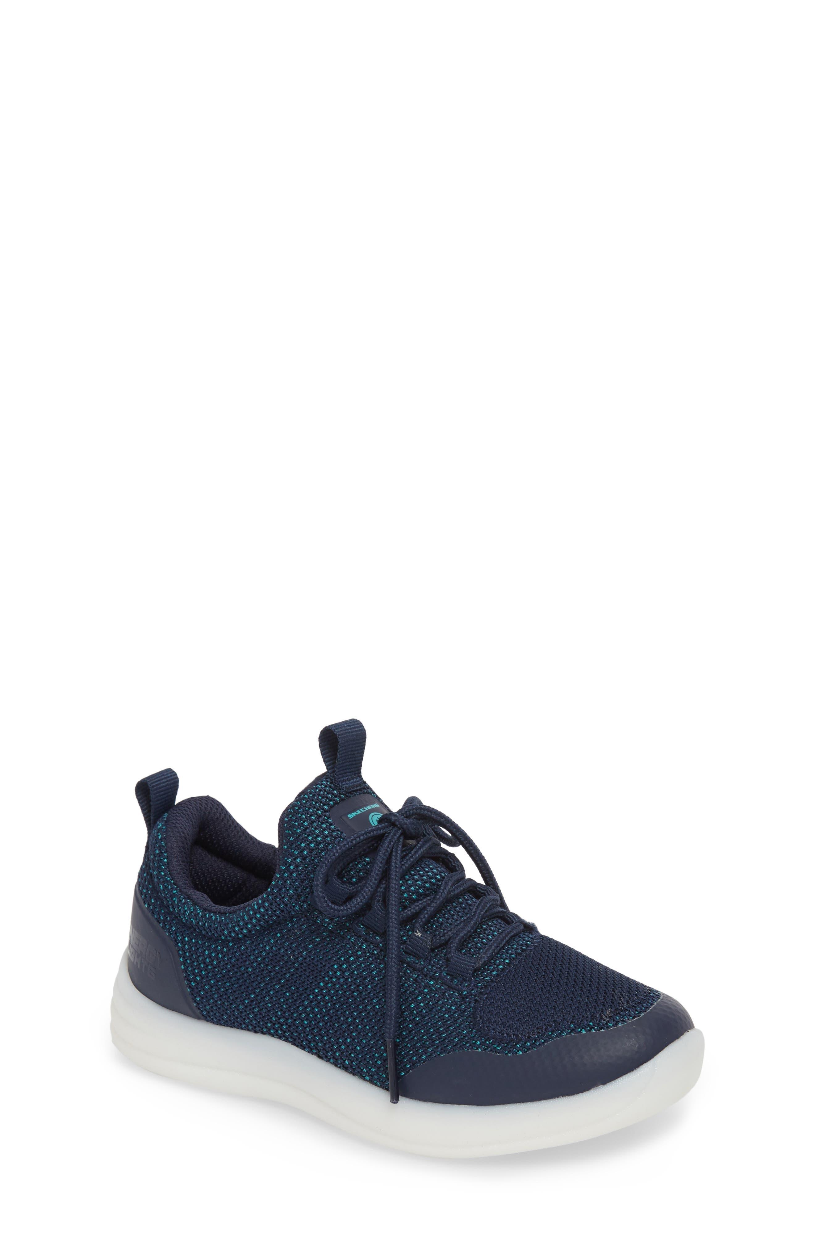 Energy Lights Street Sneaker,                             Main thumbnail 1, color,                             Navy