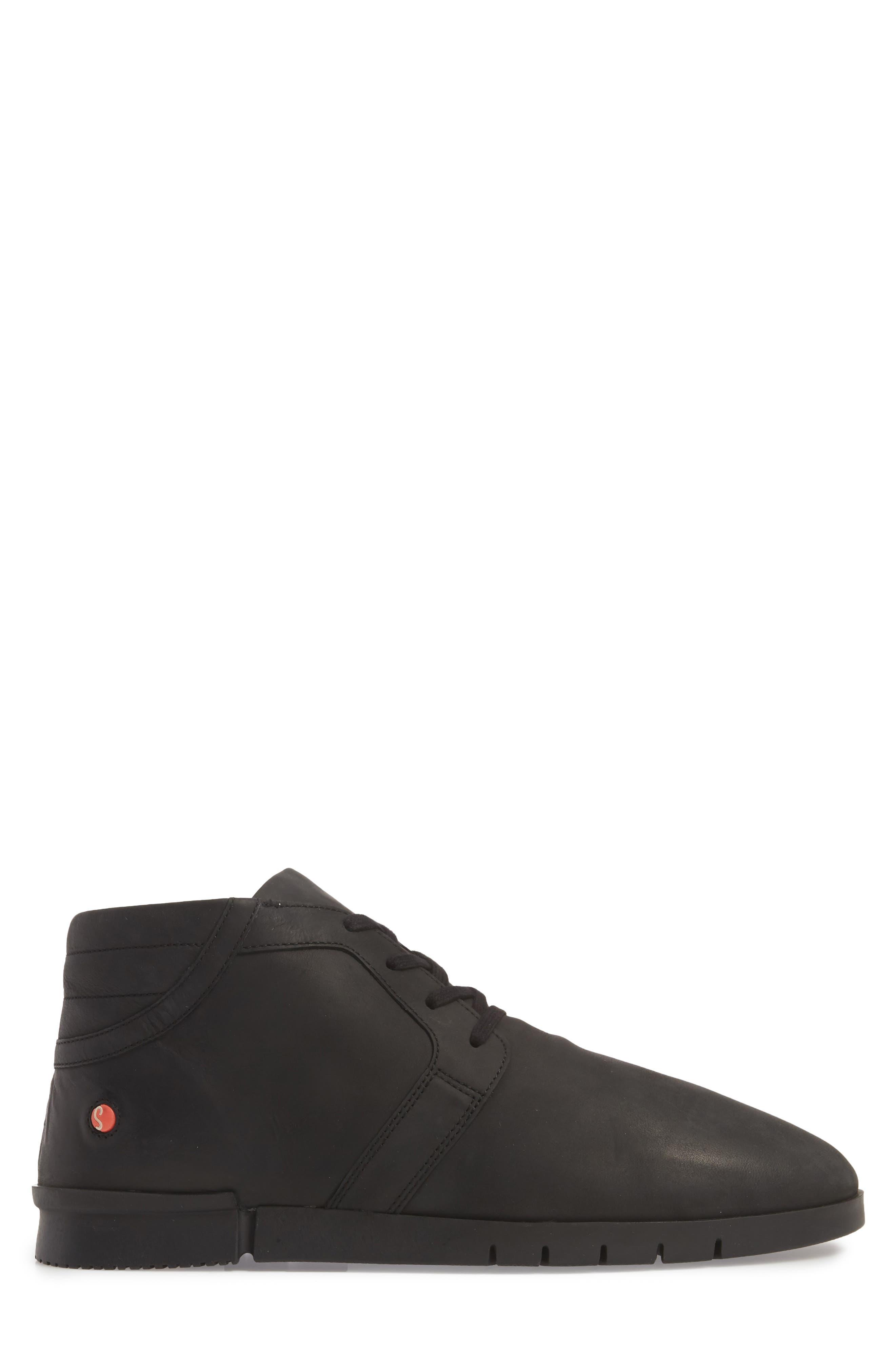 Cul Boot,                             Alternate thumbnail 4, color,                             Black Corgi Leather