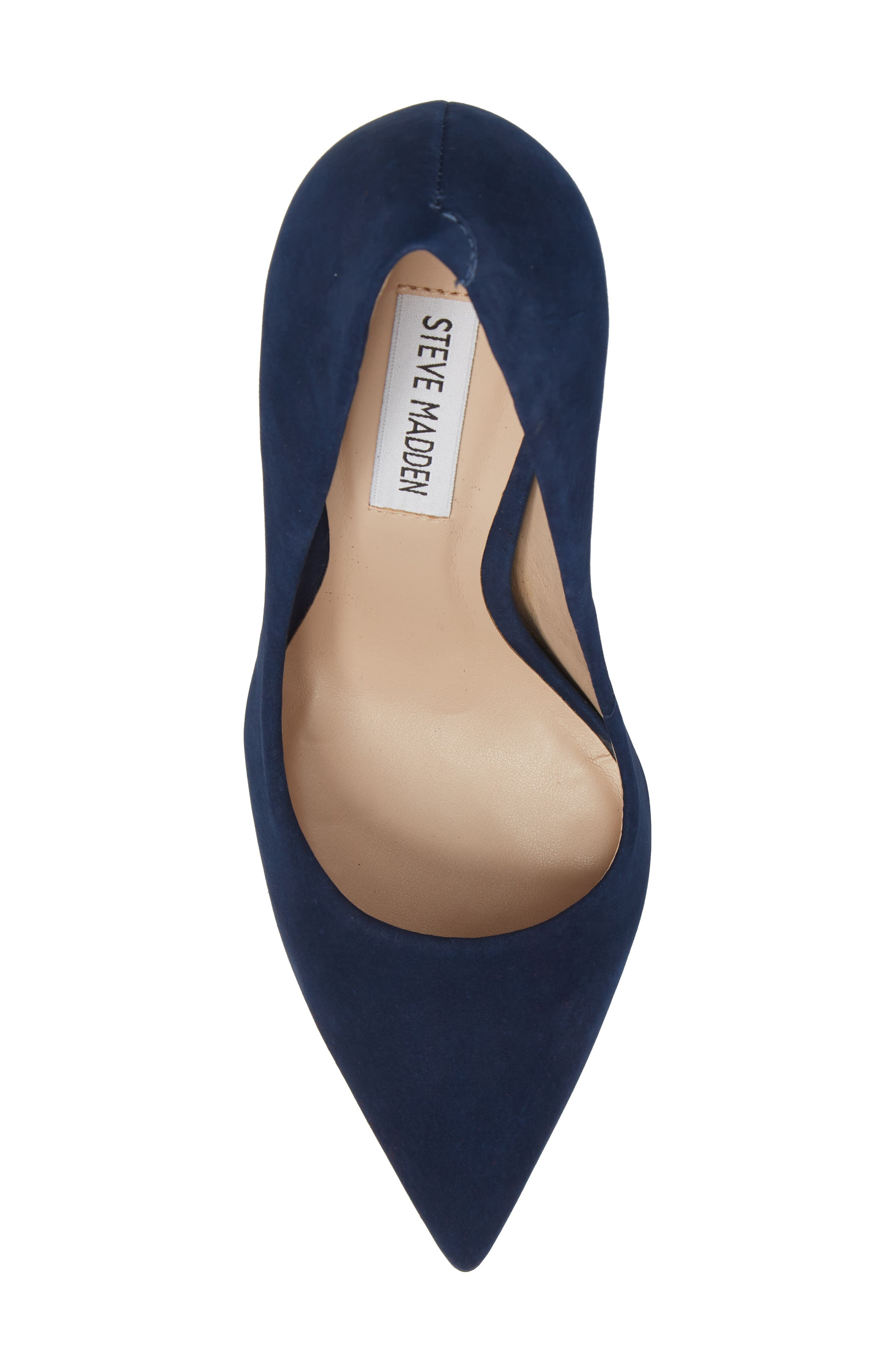 Prance Pump,                             Alternate thumbnail 4, color,                             Navy Nubuck