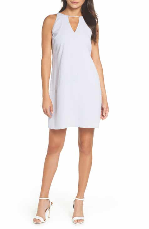 Sam Edelman Keyhole Shift Dress by SAM EDELMAN