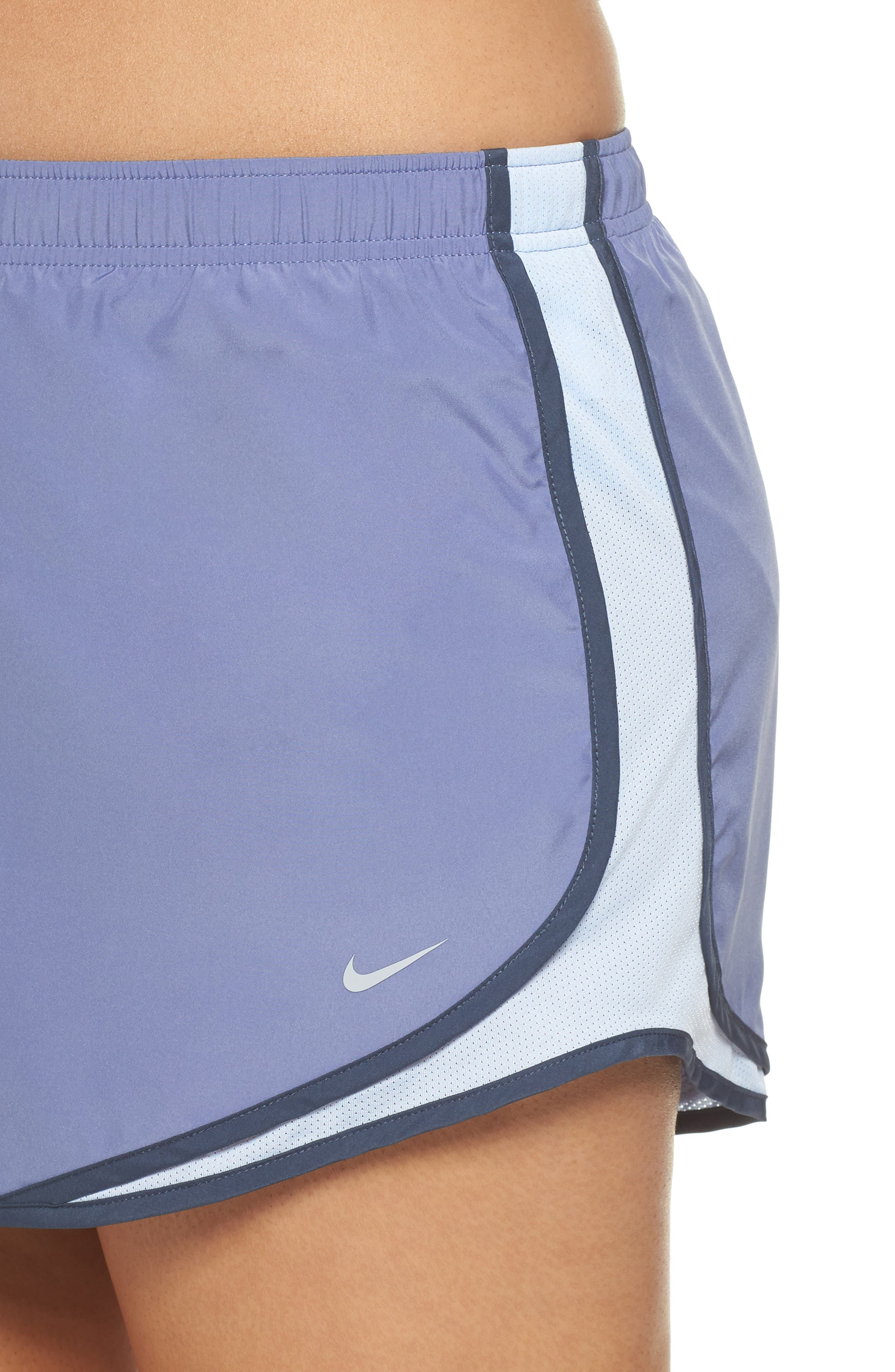Dry Tempo Running Shorts,                             Alternate thumbnail 4, color,                             Purple Slate/Wolf Grey