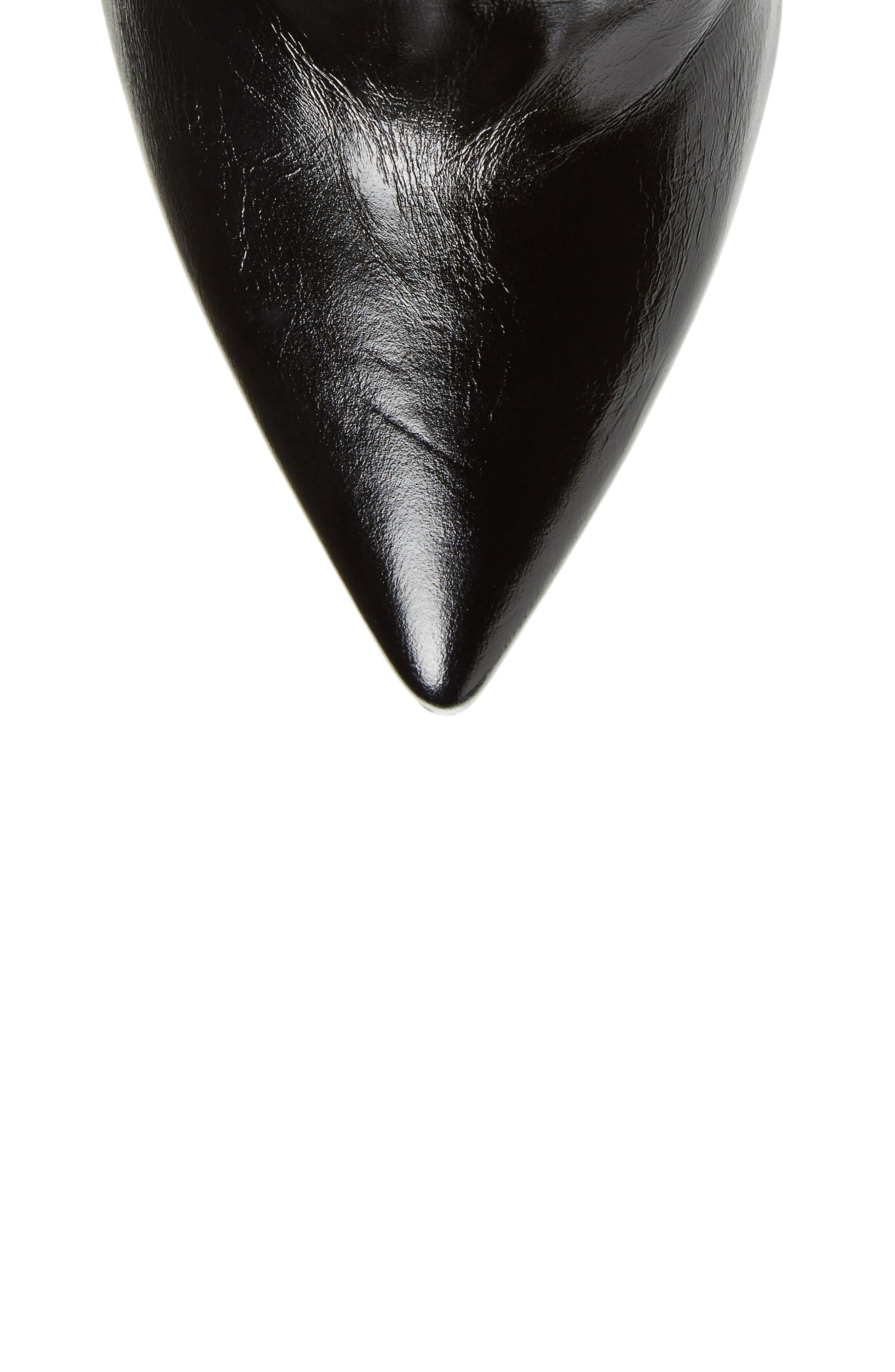 Niki Over the Knee Boot,                             Alternate thumbnail 4, color,                             Black