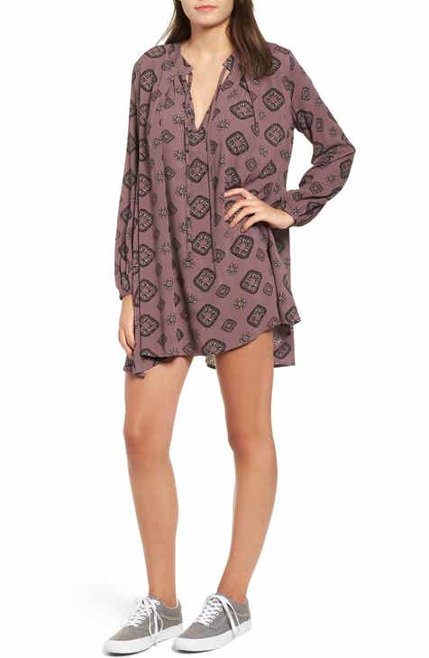 5943a64ef111 Charles Henry Ruched Sleeve Wrap Dress (Regular & Petite) Top ...