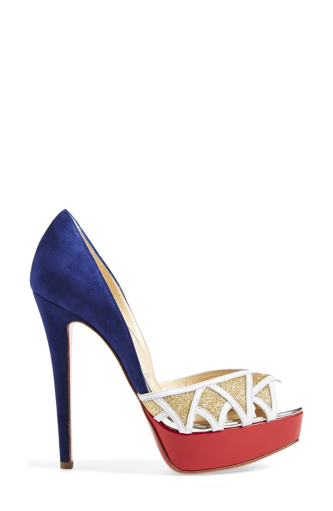 Alternate Image 4  - Christian Louboutin Open Toe Pump