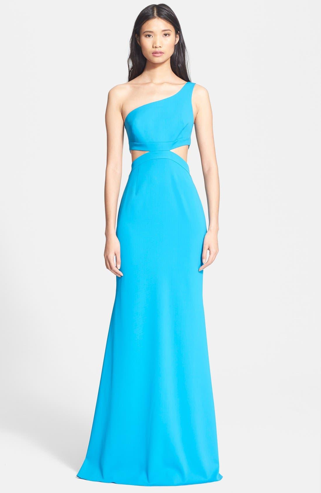 one shoulder cutout dress Blue Jay Godfrey D1ezVNi - inmoda-algerie.com