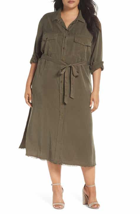 Shirtdress Plus Size Dresses Nordstrom