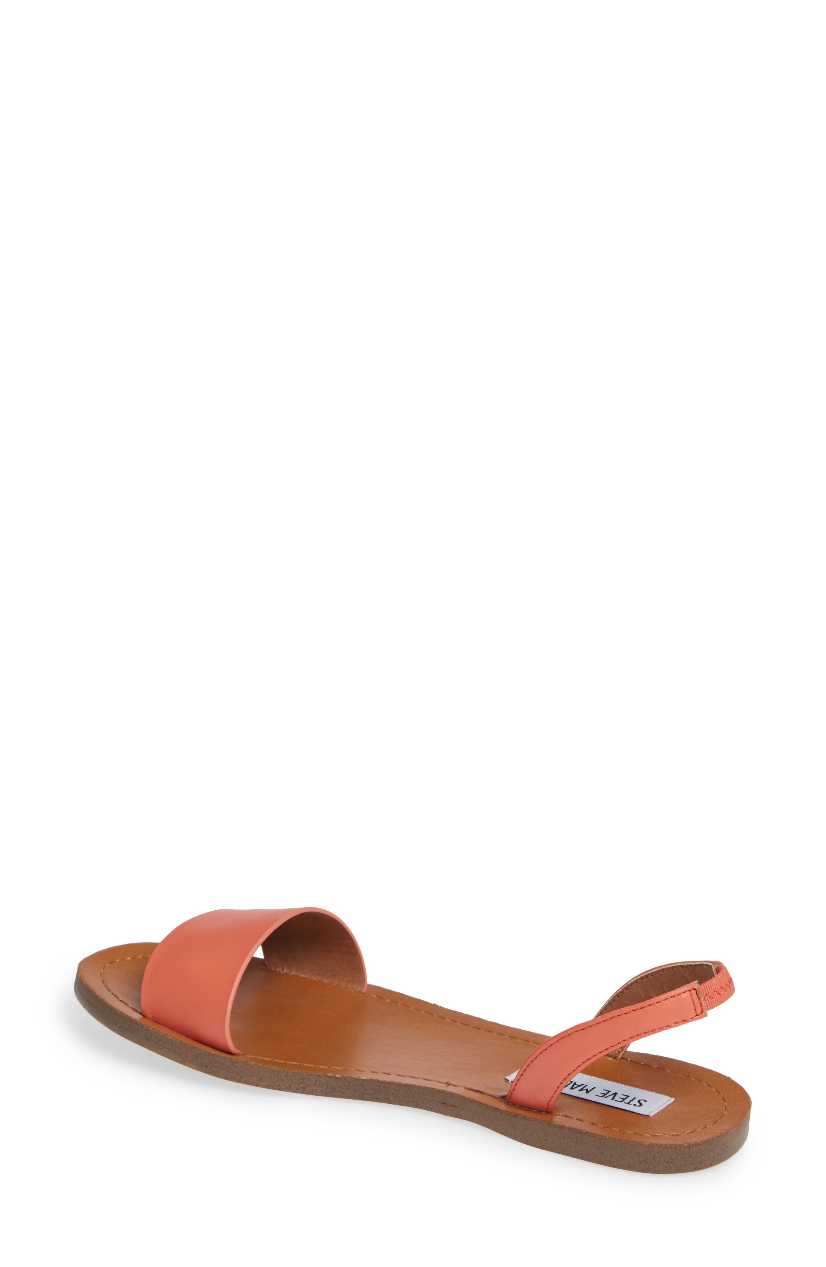 Alina Sandal,                             Alternate thumbnail 2, color,                             Coral