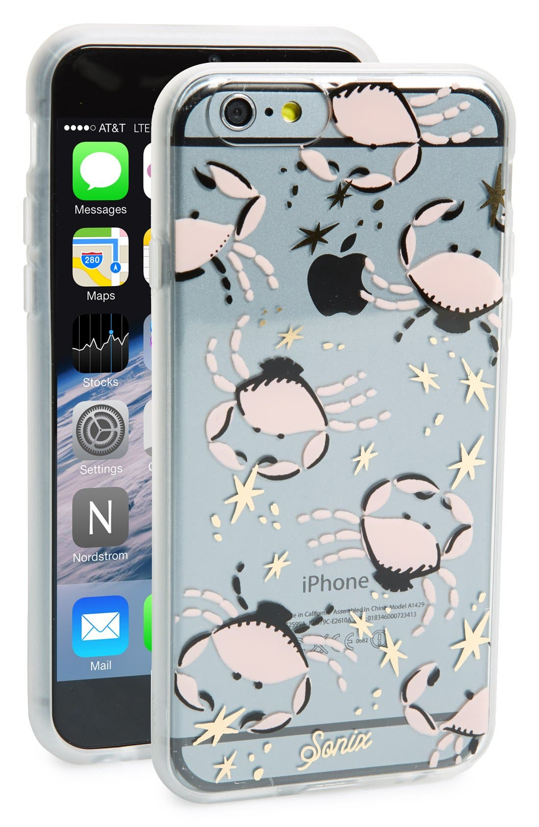 sonix iphone case sonix clear crab iphone 6 nordstrom 13004