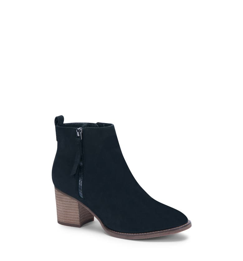 Nova Waterproof Bootie,                         Main,                         color, Black Nubuck