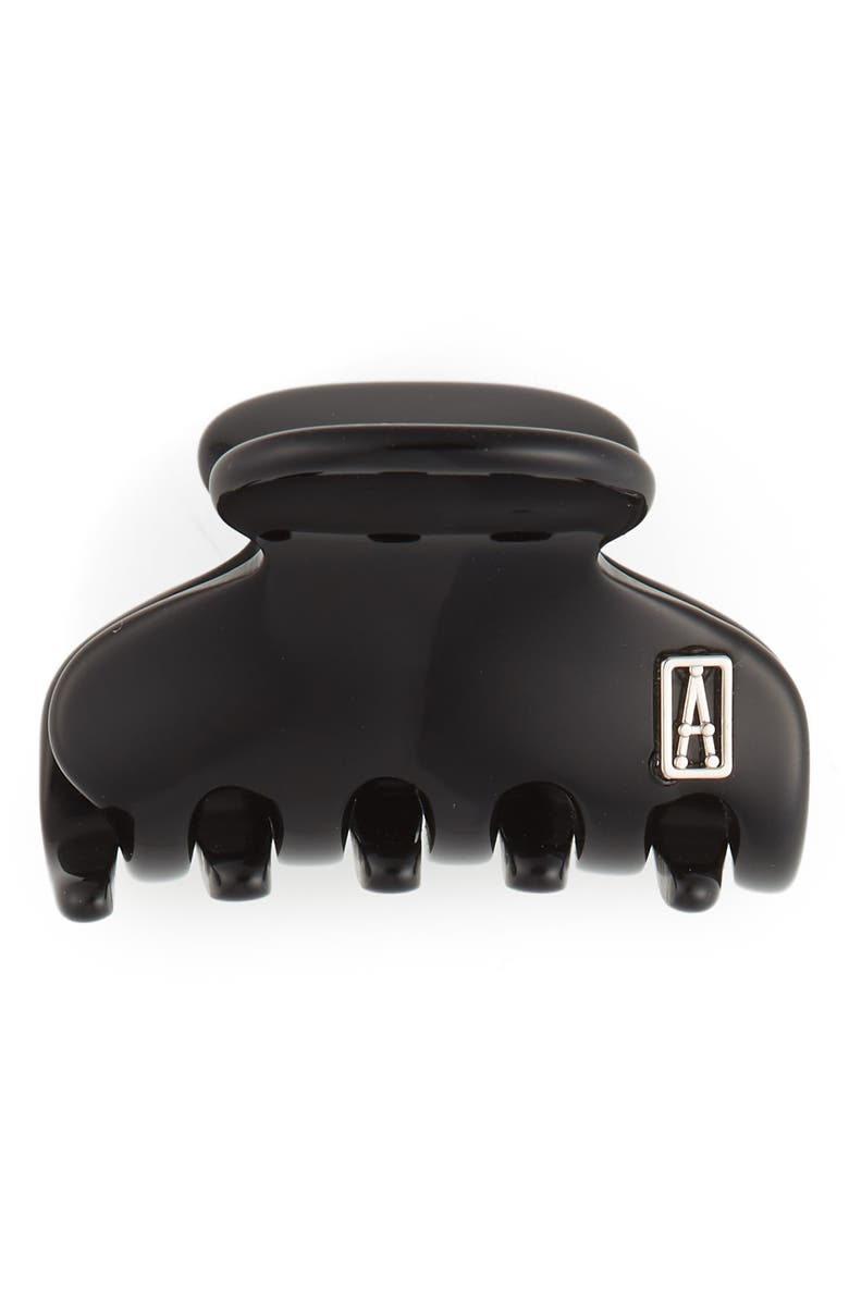 Alexandre De Paris Women's Timeless Mini Hair Jaw Clip In Black