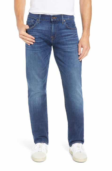 7 For All Mankind® The Straight Slim Straight Leg Jeans (Outrider) 9786dc229a0